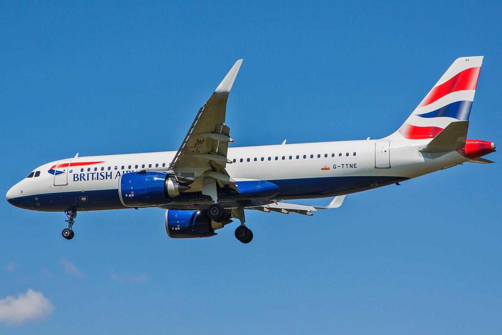 British Airways Airbus A320-251N G-TTNE