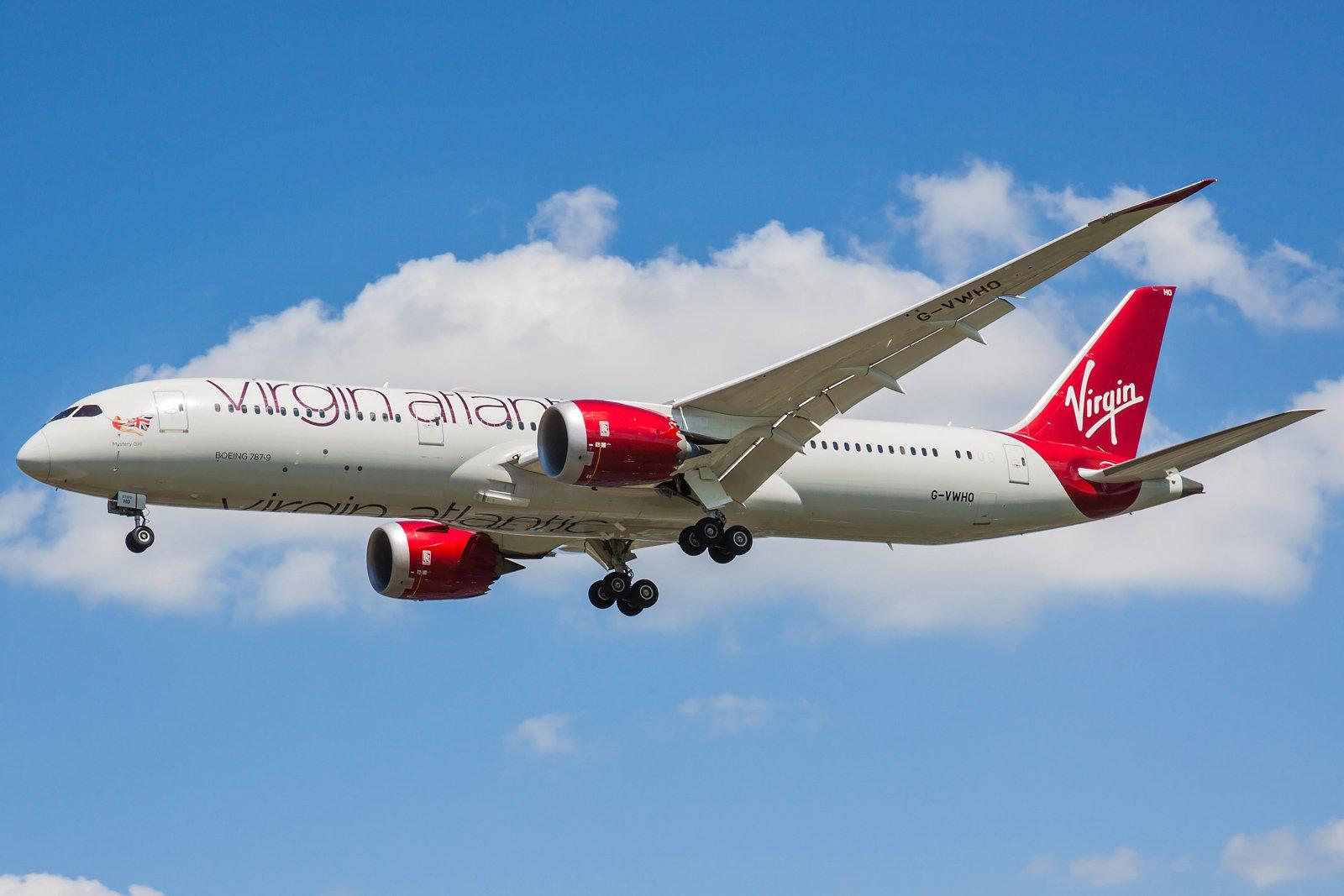 Virgin Atlantic Airways Boeing 787-9 Dreamliner G-VWHO