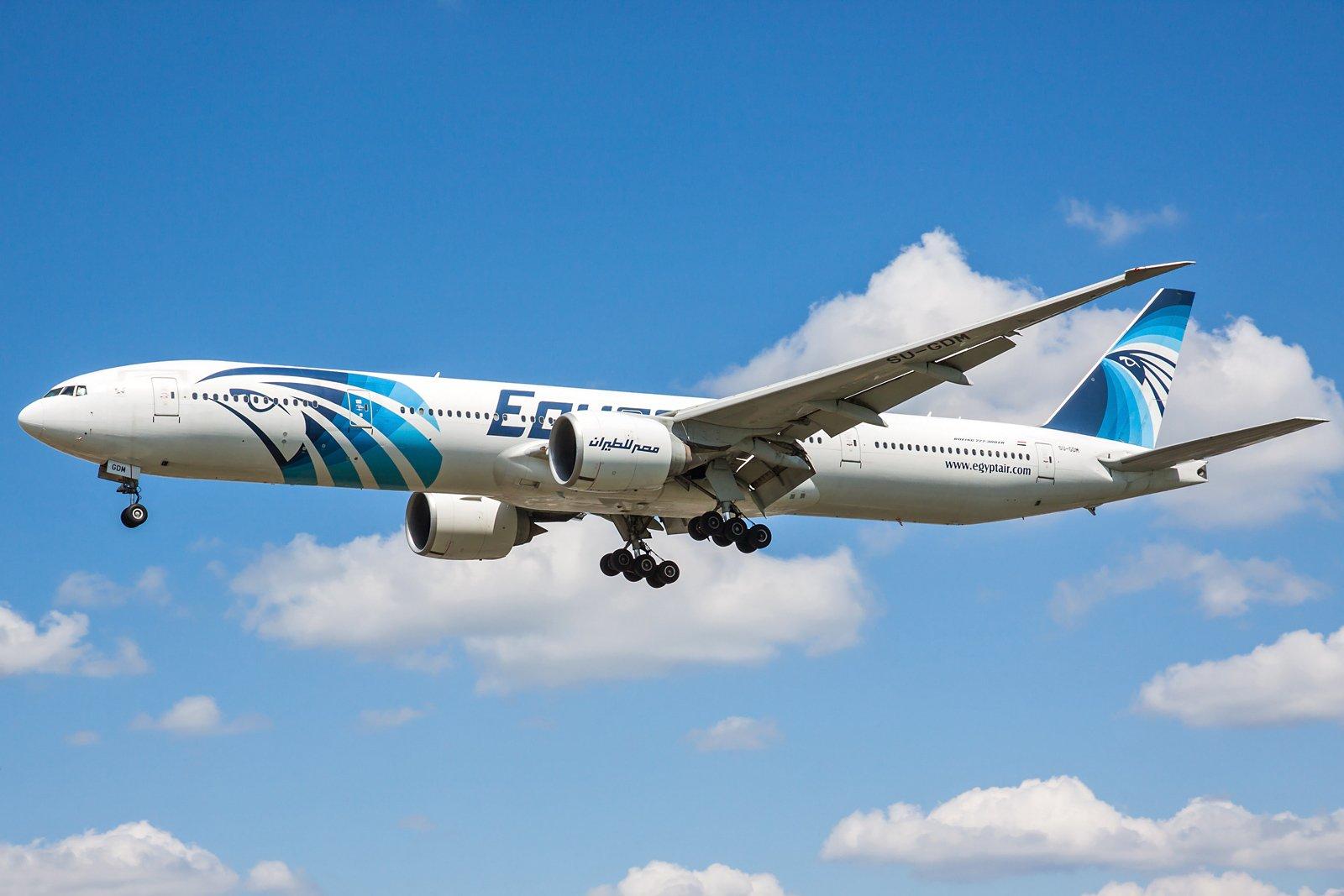 EgyptAir Boeing 777-36N(ER) SU-GDM
