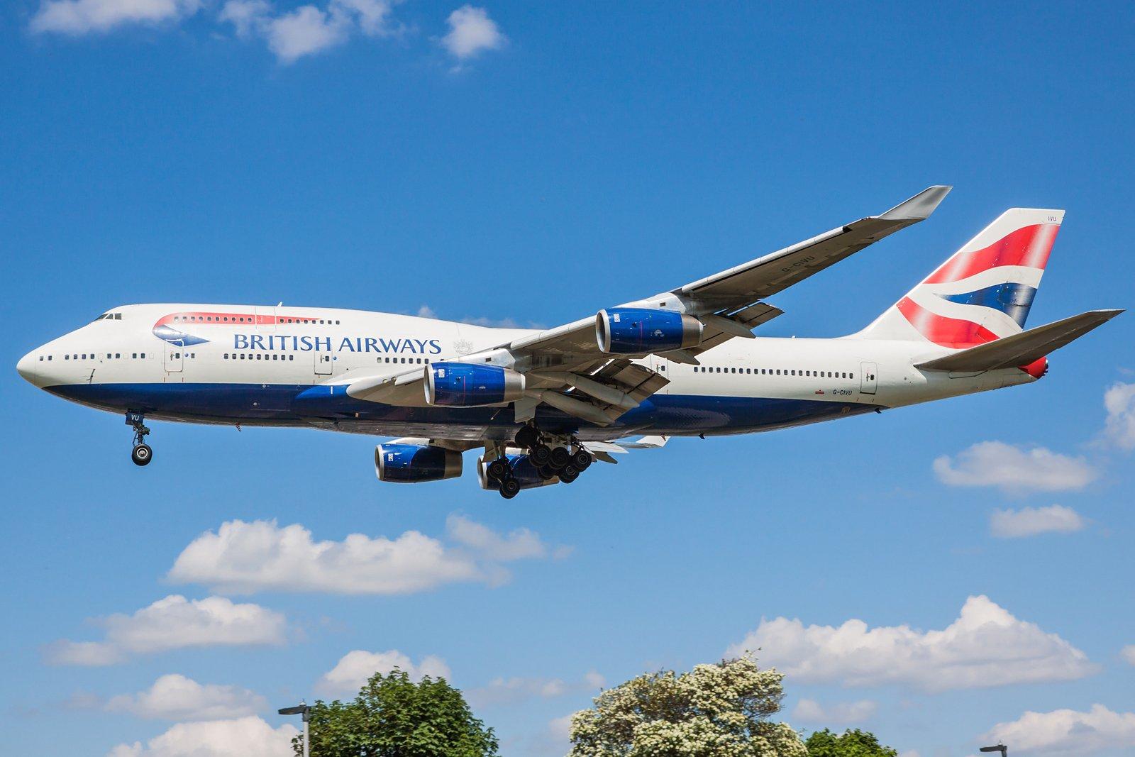 British Airways Boeing 747-436 G-CIVU