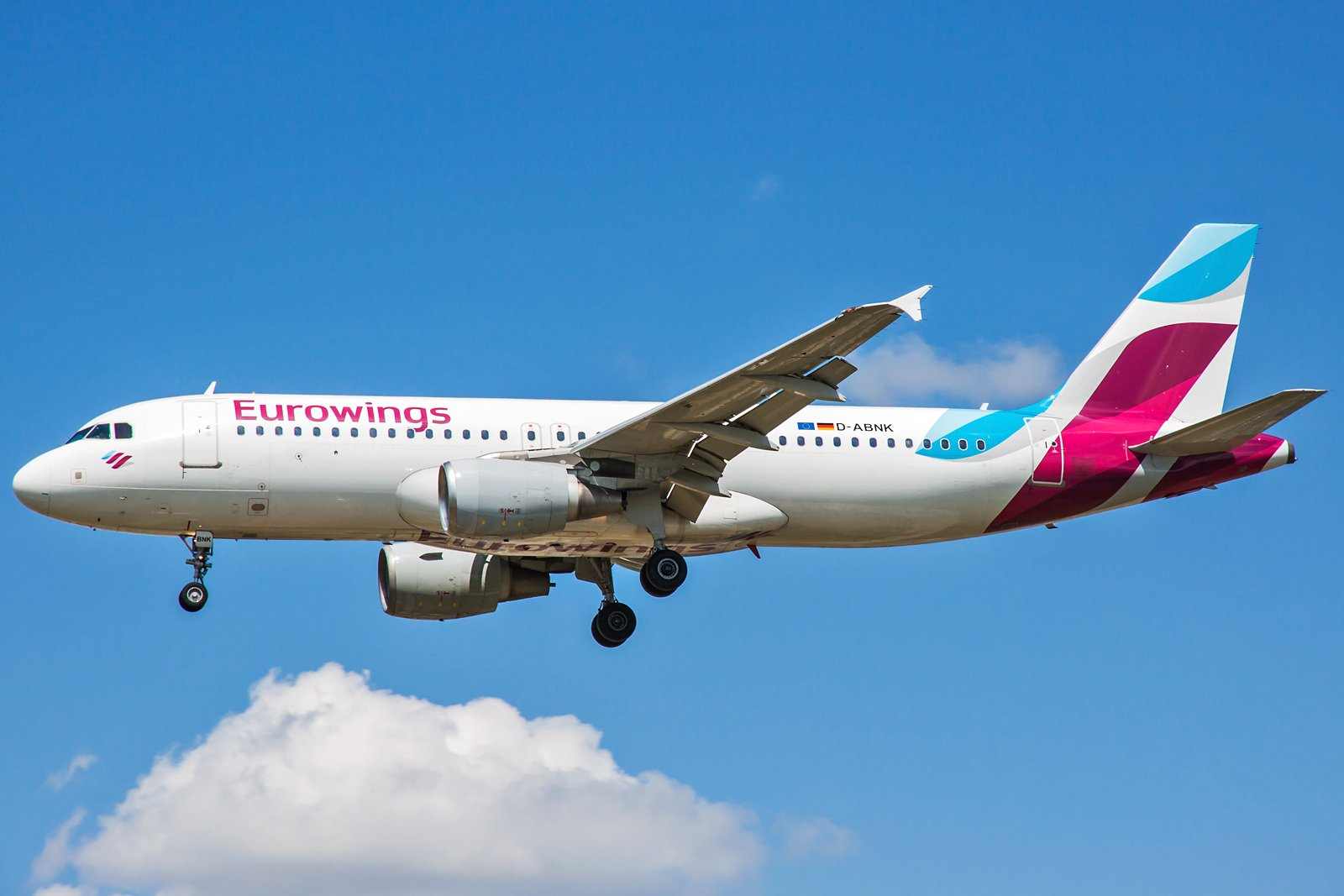 Eurowings Airbus A320-214 D-ABNK
