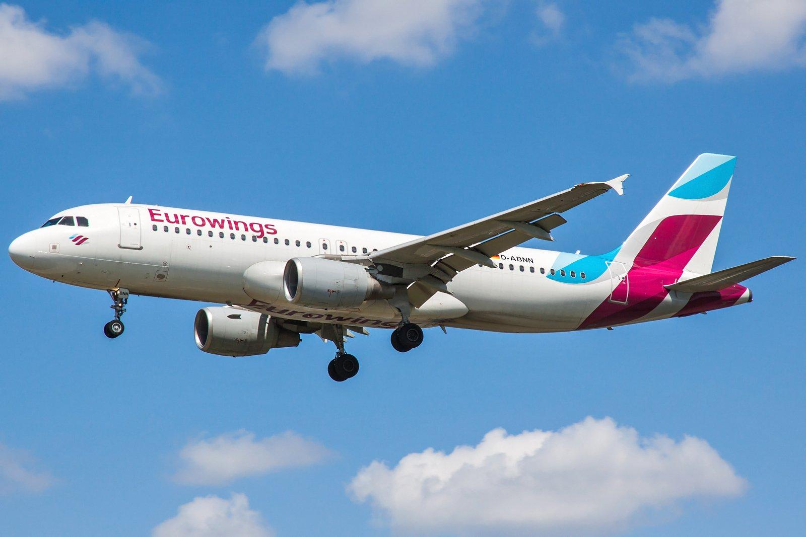 Eurowings Airbus A320-214 D-ABNN
