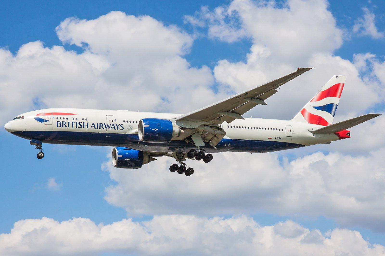 British Airways Boeing 777-236(ER) G-VIIM