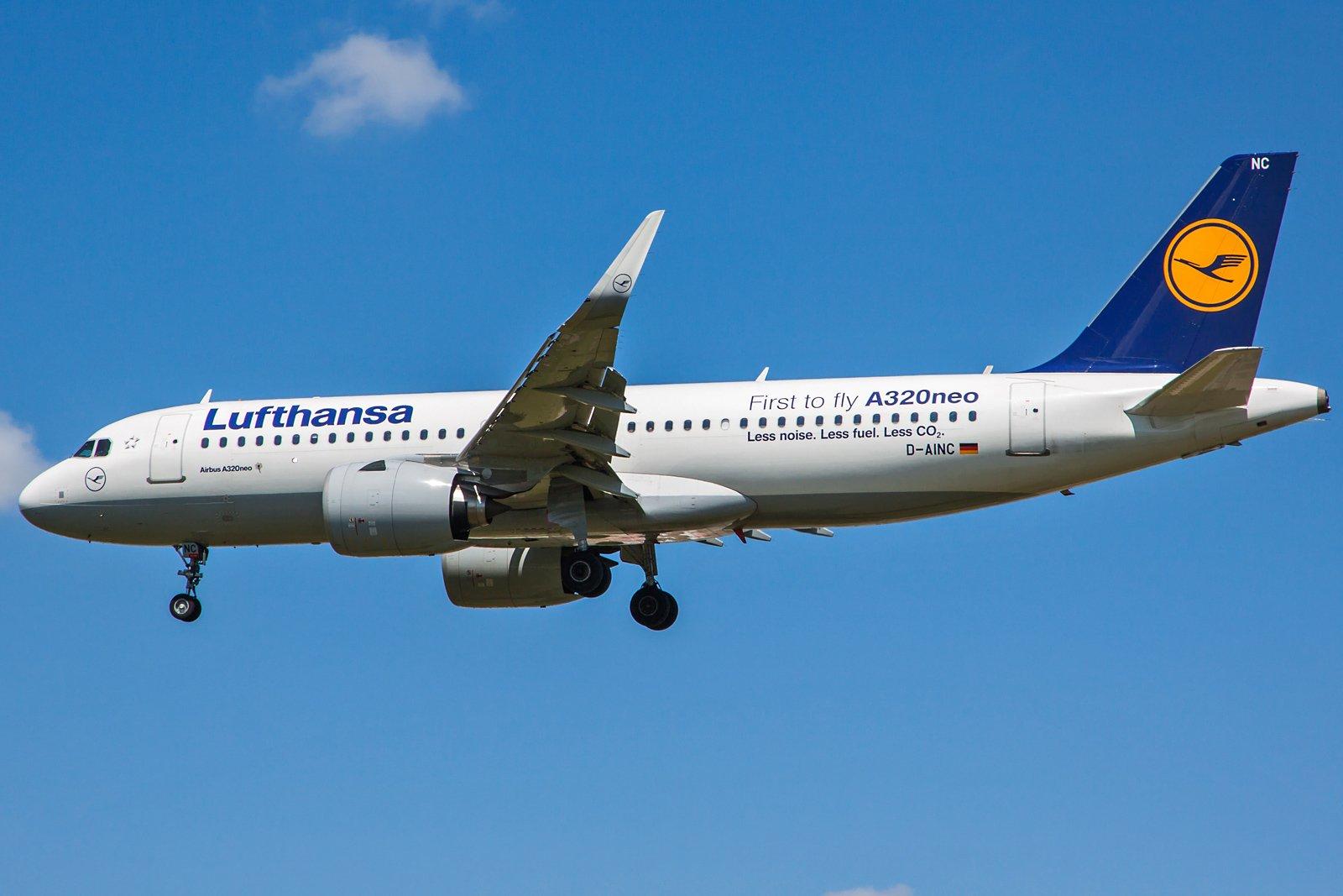 Lufthansa Airbus A320-271N D-AINC