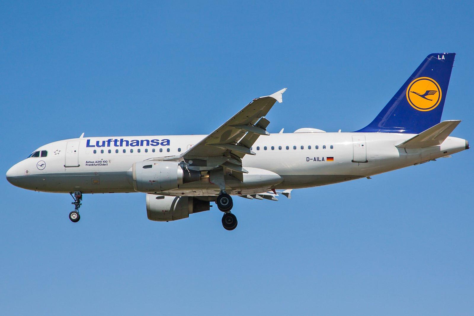 Lufthansa Airbus A319-114 D-AILA