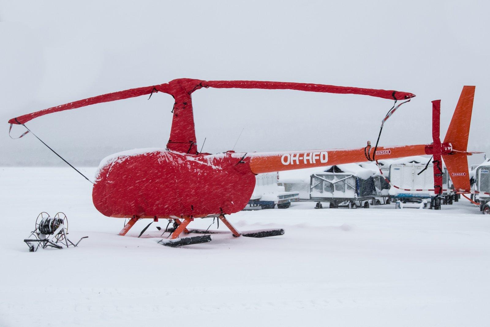 OH-HFD. Robinson R44 Clipper II