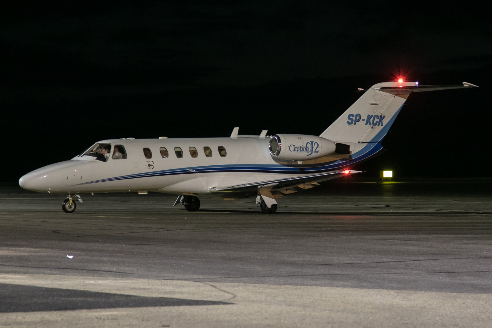 SP-KCK. Cessna Citation CJ2.  2.10.2019
