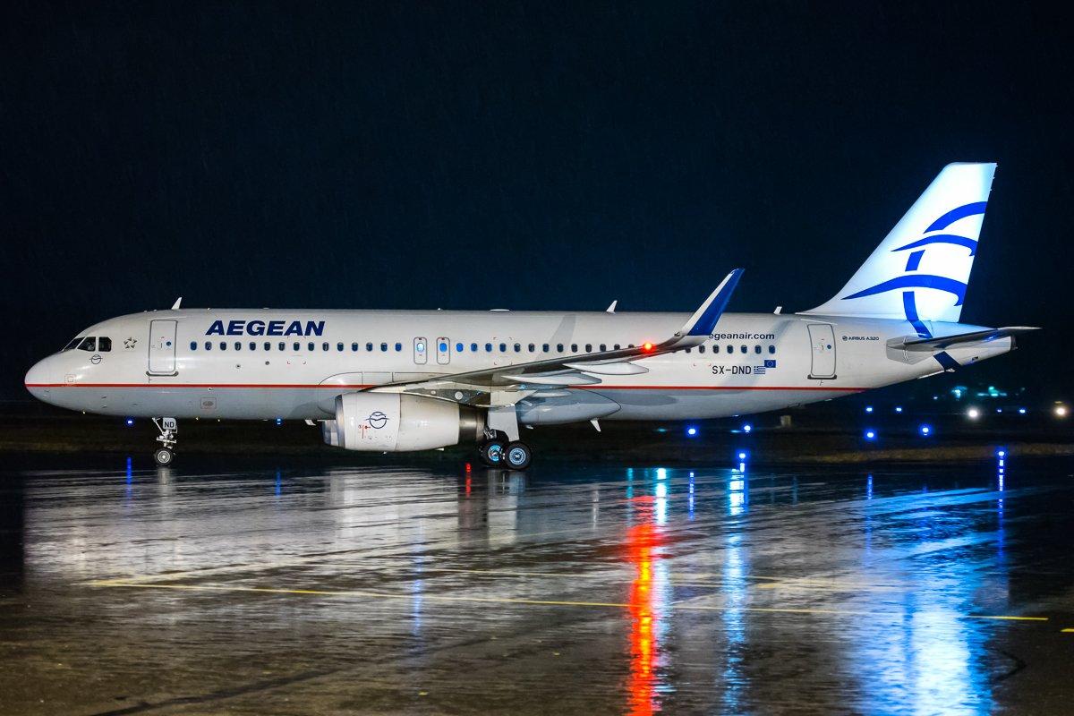 SX-DND Aegean A320 20.10.2019