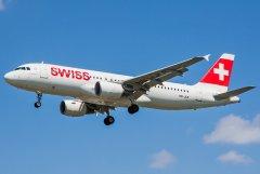Swiss Airbus A320-214 HB-JLR