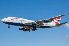 British Airways Boeing 747-436 G-CIVF