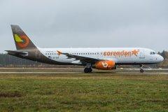 SX-SOF Corendon/Orange2fly A320