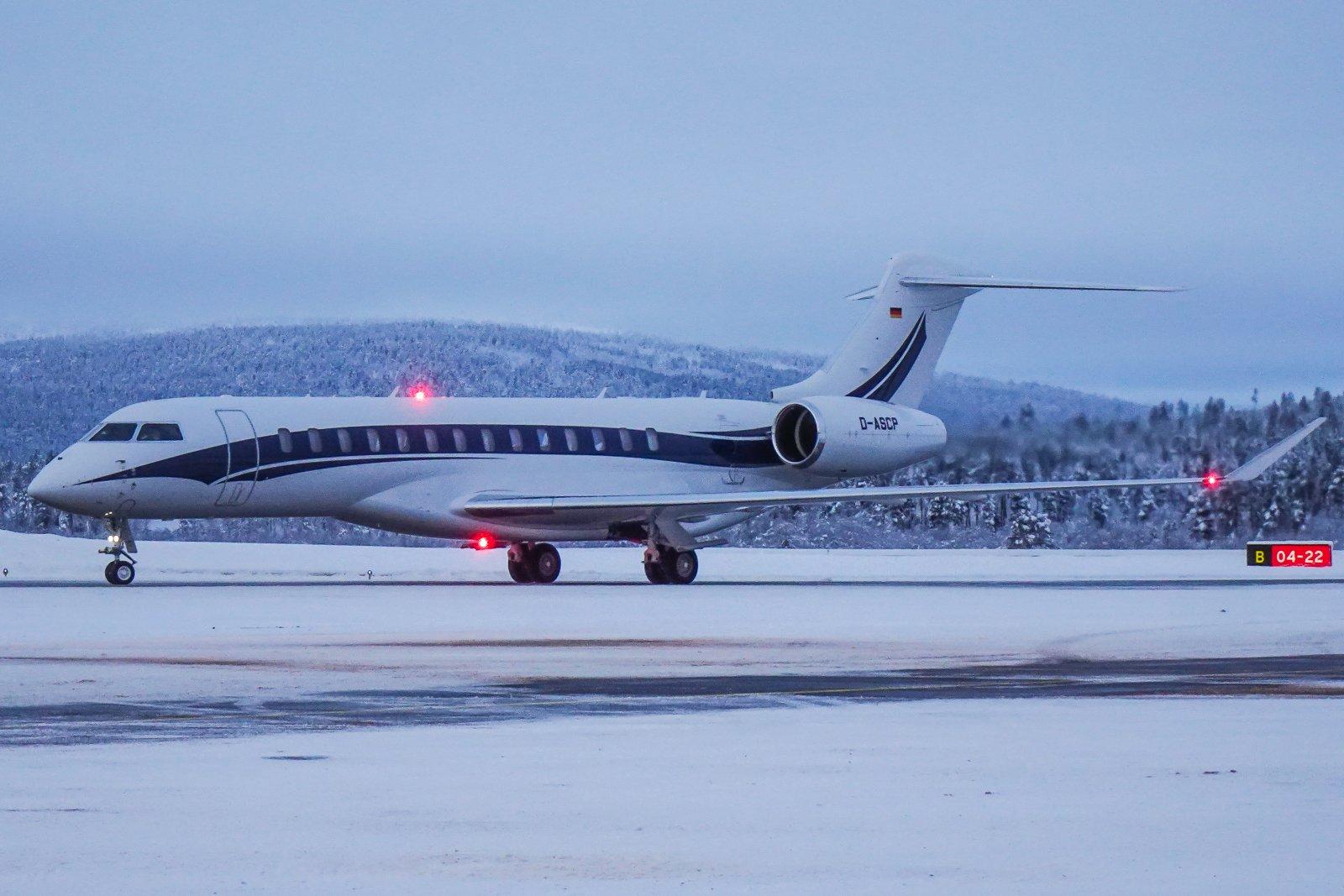 D-ASCP. Bombardier Global 7500. 17.11.2019