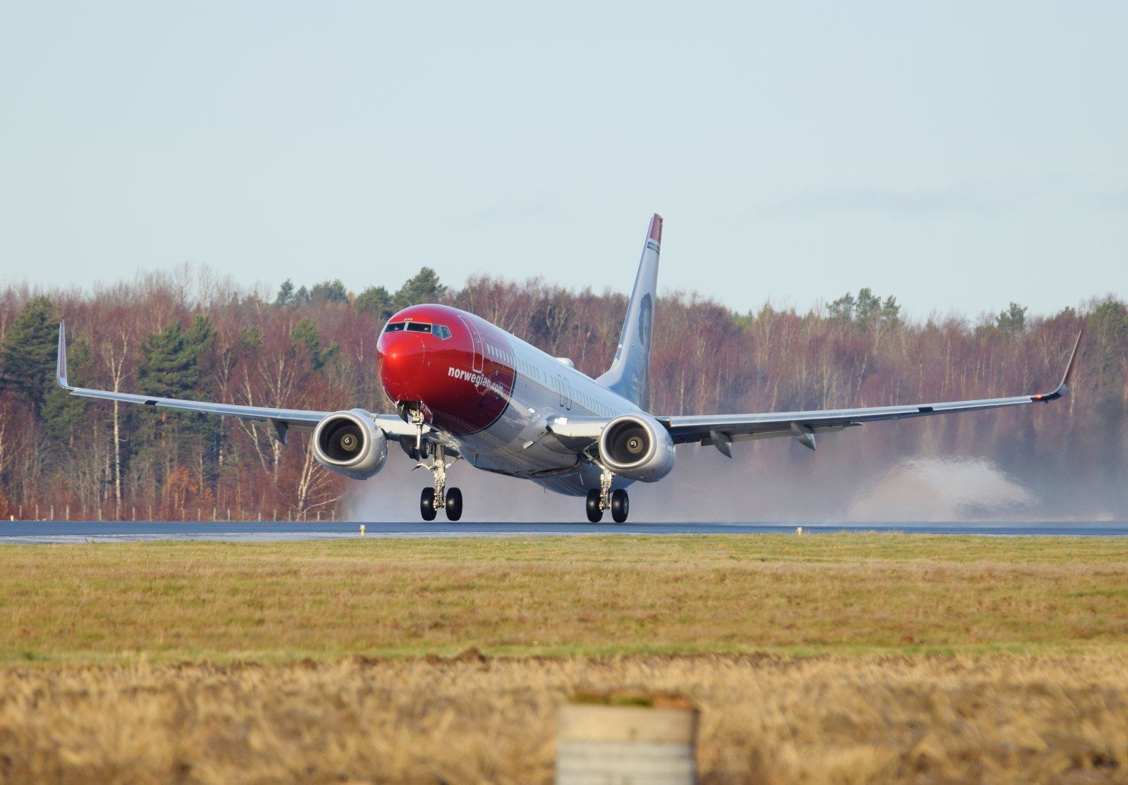 EI-FJY - Boeing 737-8JP - Norwegian Air International - 1.11.2019