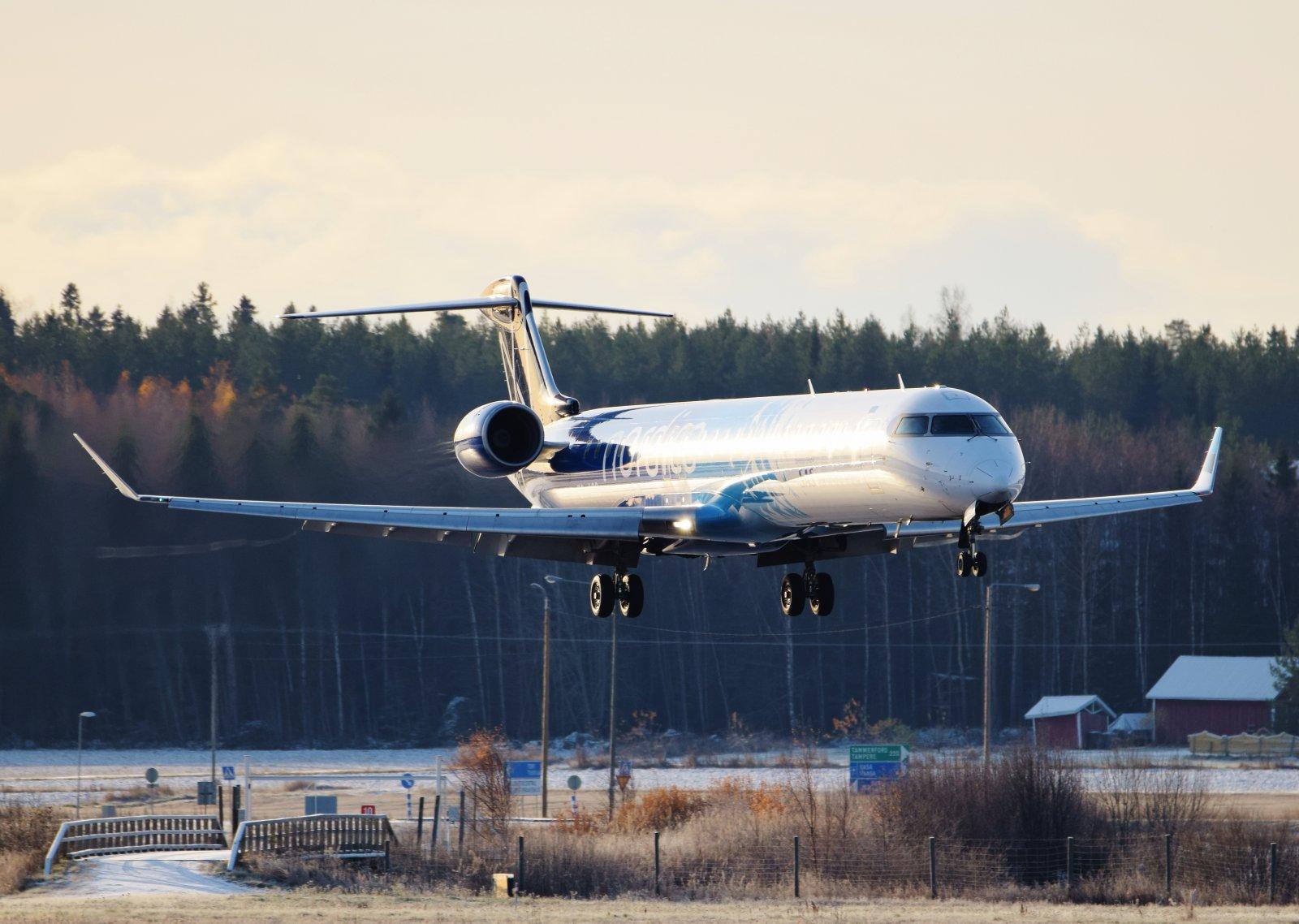 ES-ACG - Bombardier CRJ-900LR - Nordica - 30.10.2019