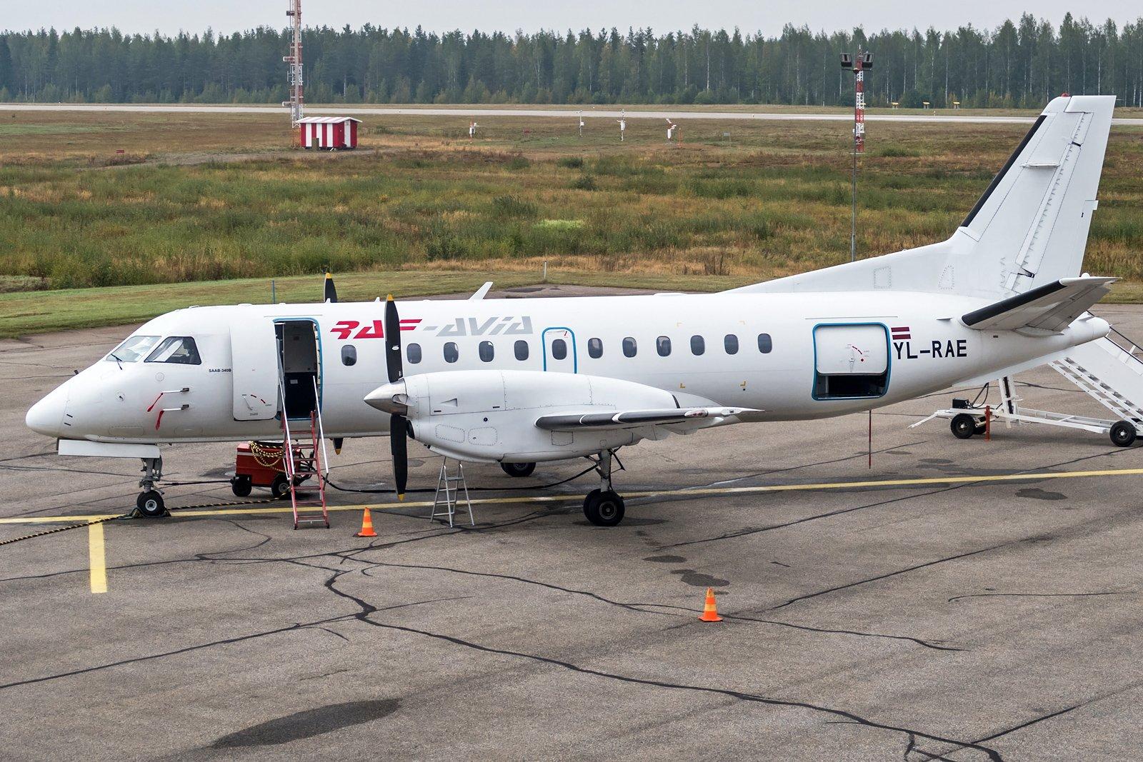 RAF-Avia Saab 340B YL-RAE