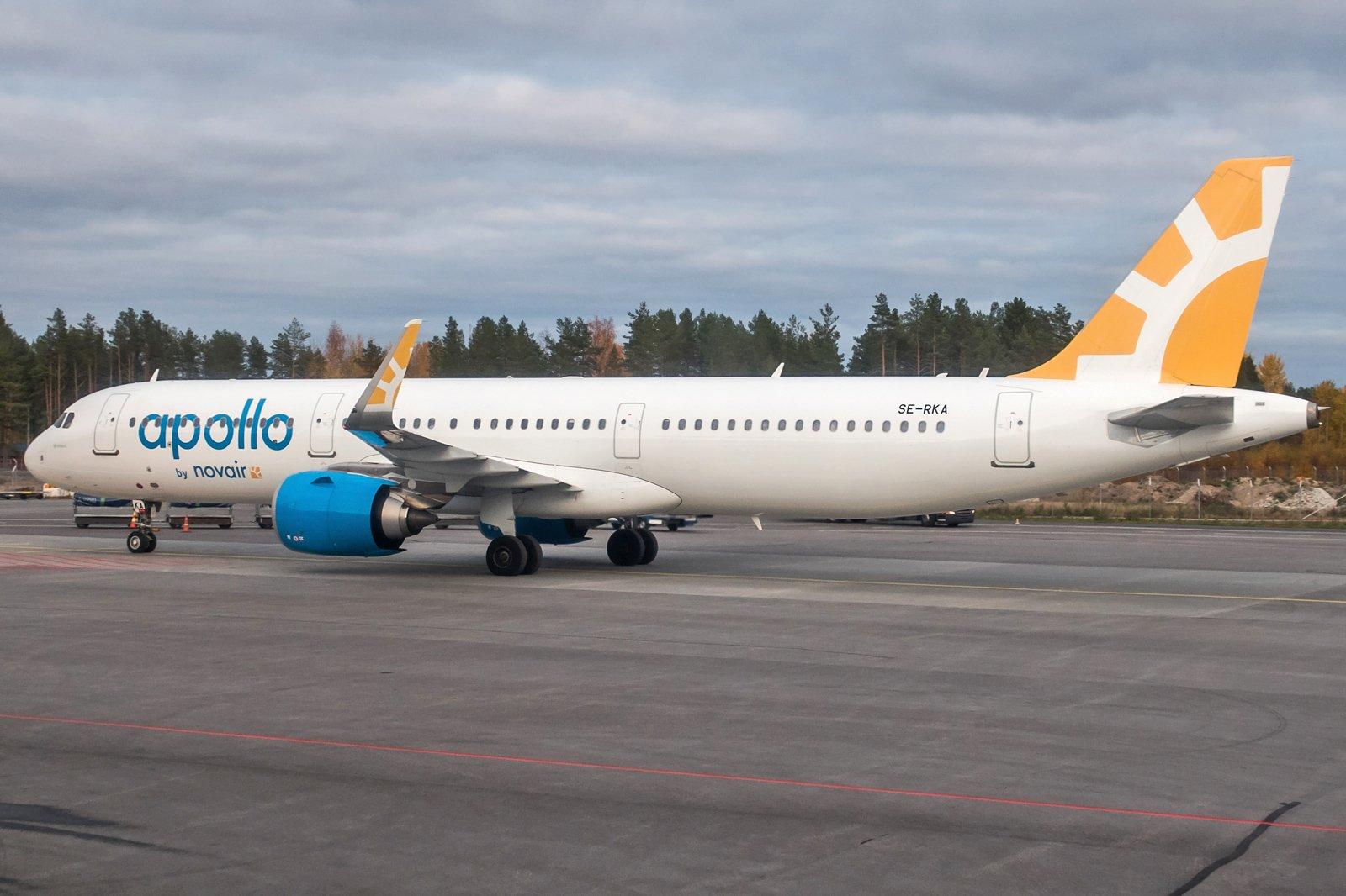 Novair Airbus A321-251N SE-RKA