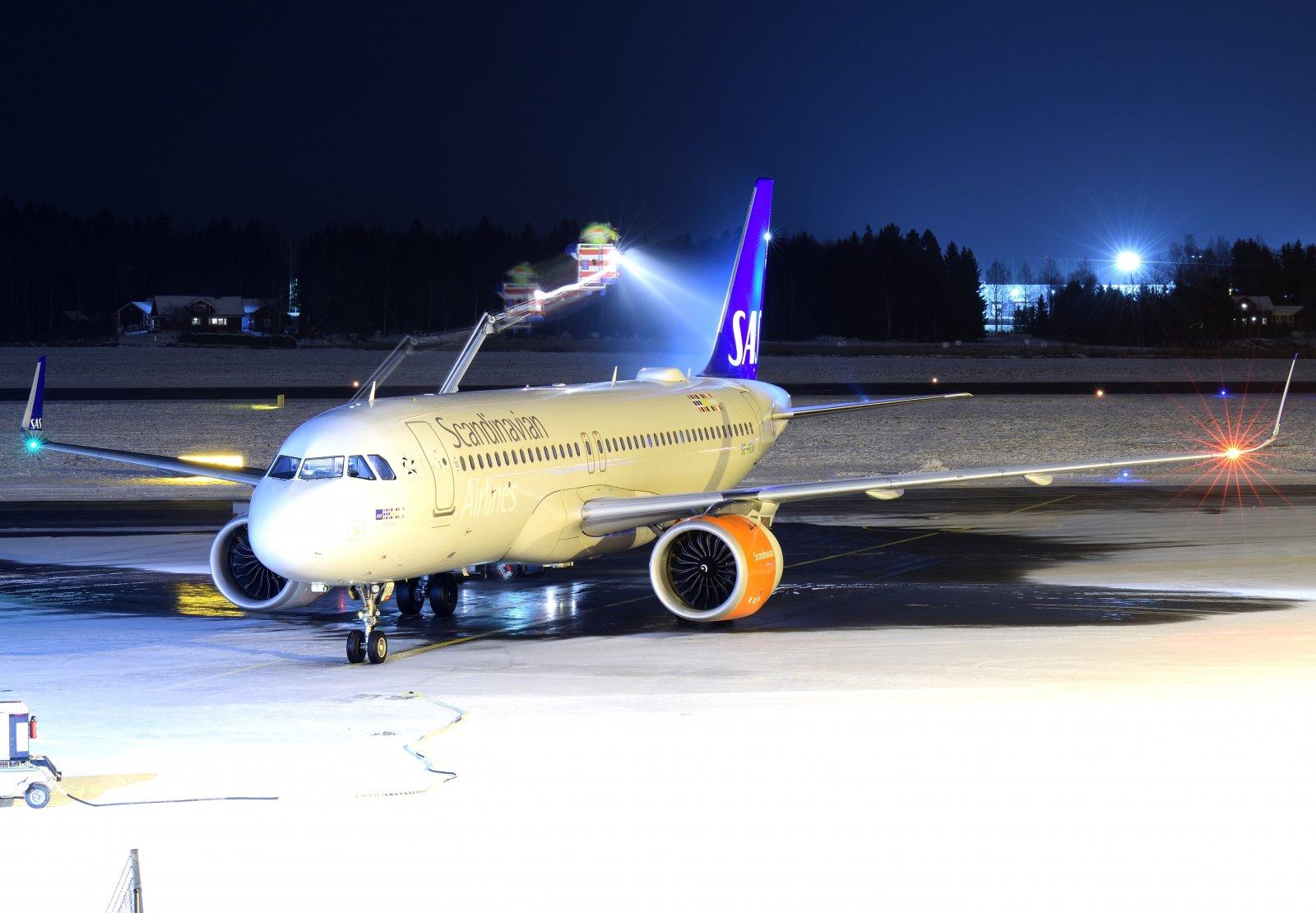 SE-ROA - Airbus A320-251N - SAS Scandinavian Airlines - 3.12.2019