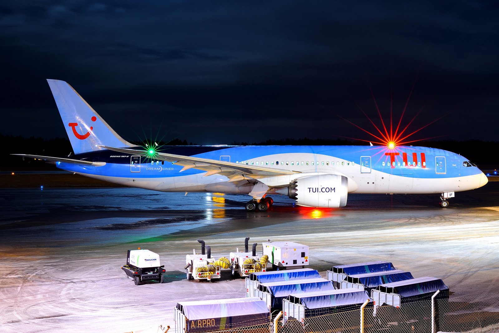 G-TUIF - Boeing 787-8 Dreamliner - TUI - 10.1.2020