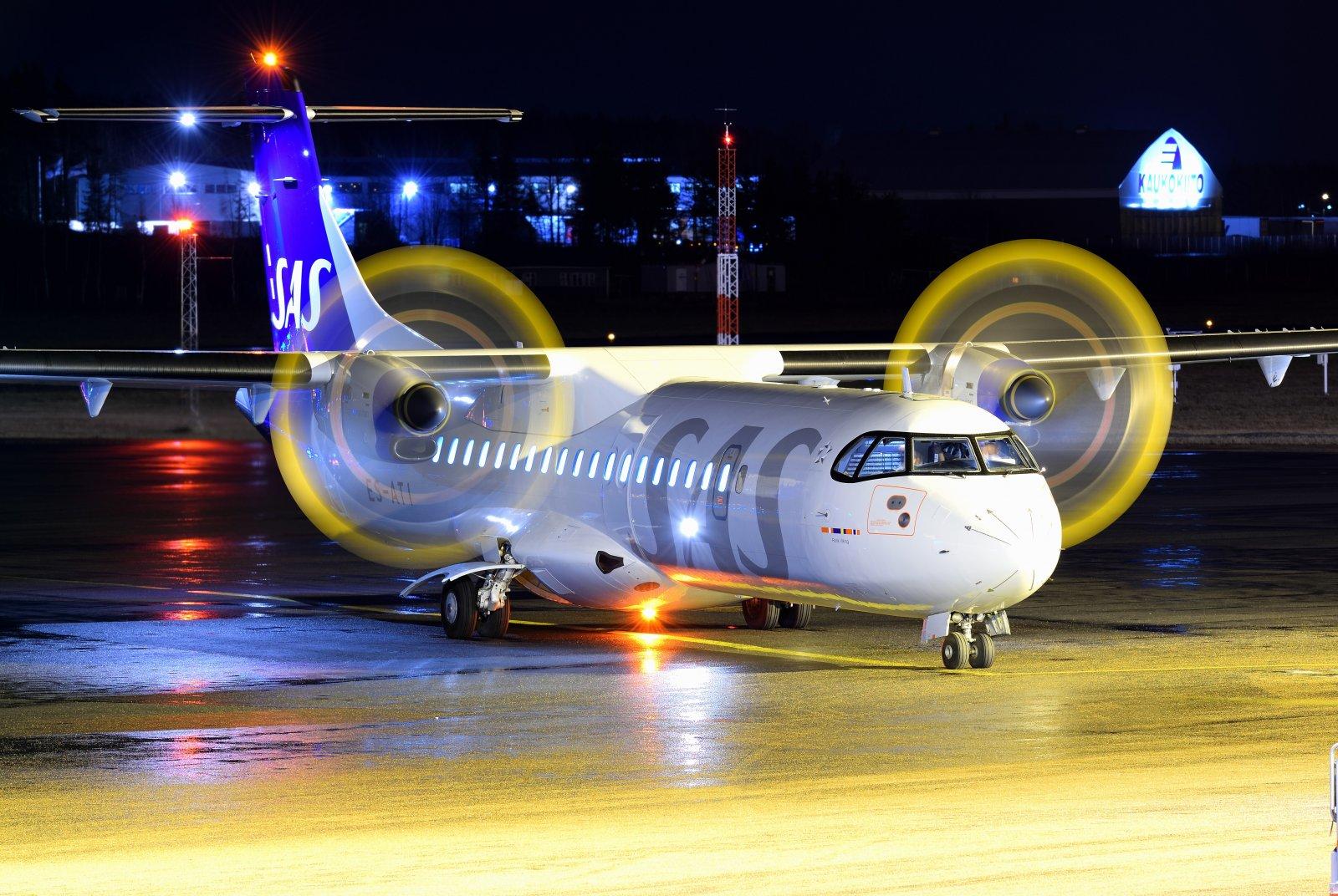 ES-ATI - ATR 72-600 - SAS Scandinavian Airlines (Nordica) - 2.1.2020