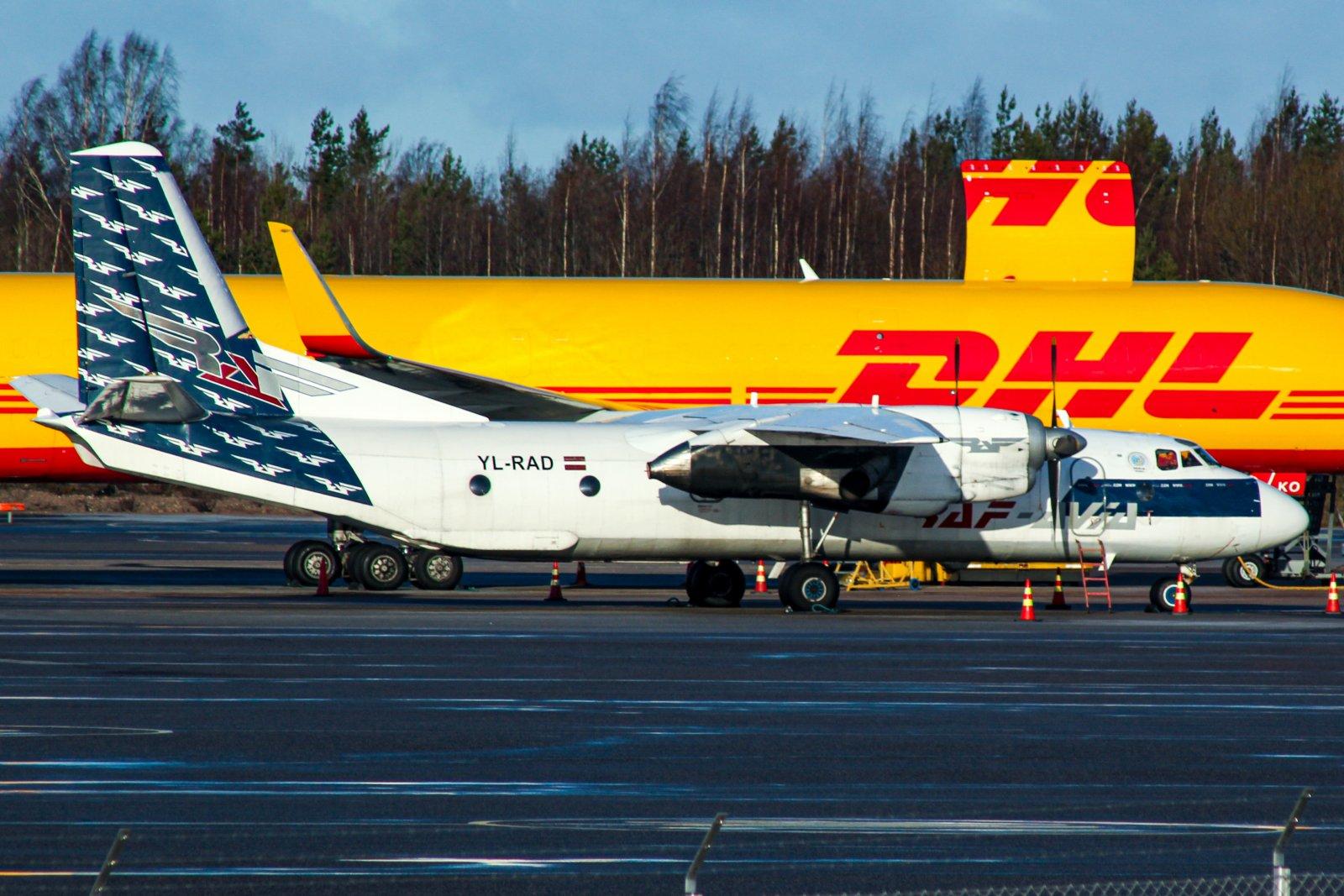 RafAvian Antonov Helsingissä