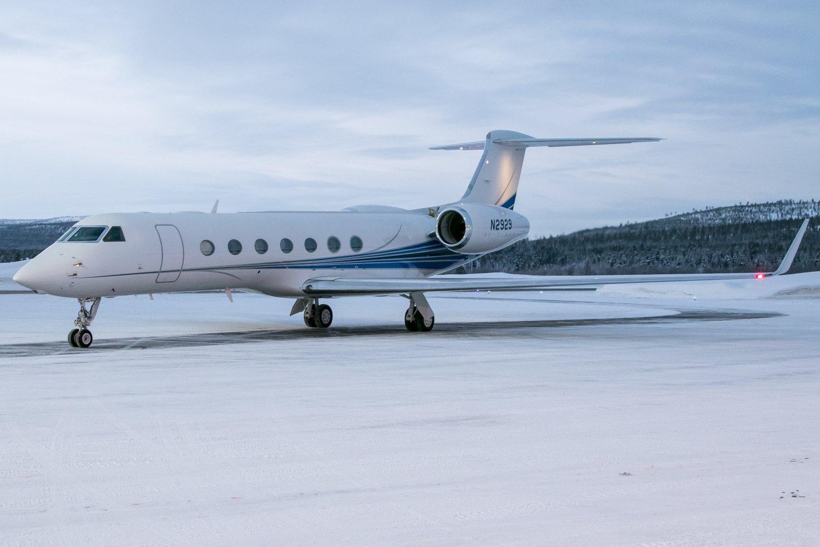 N2929. Gulfstream G550