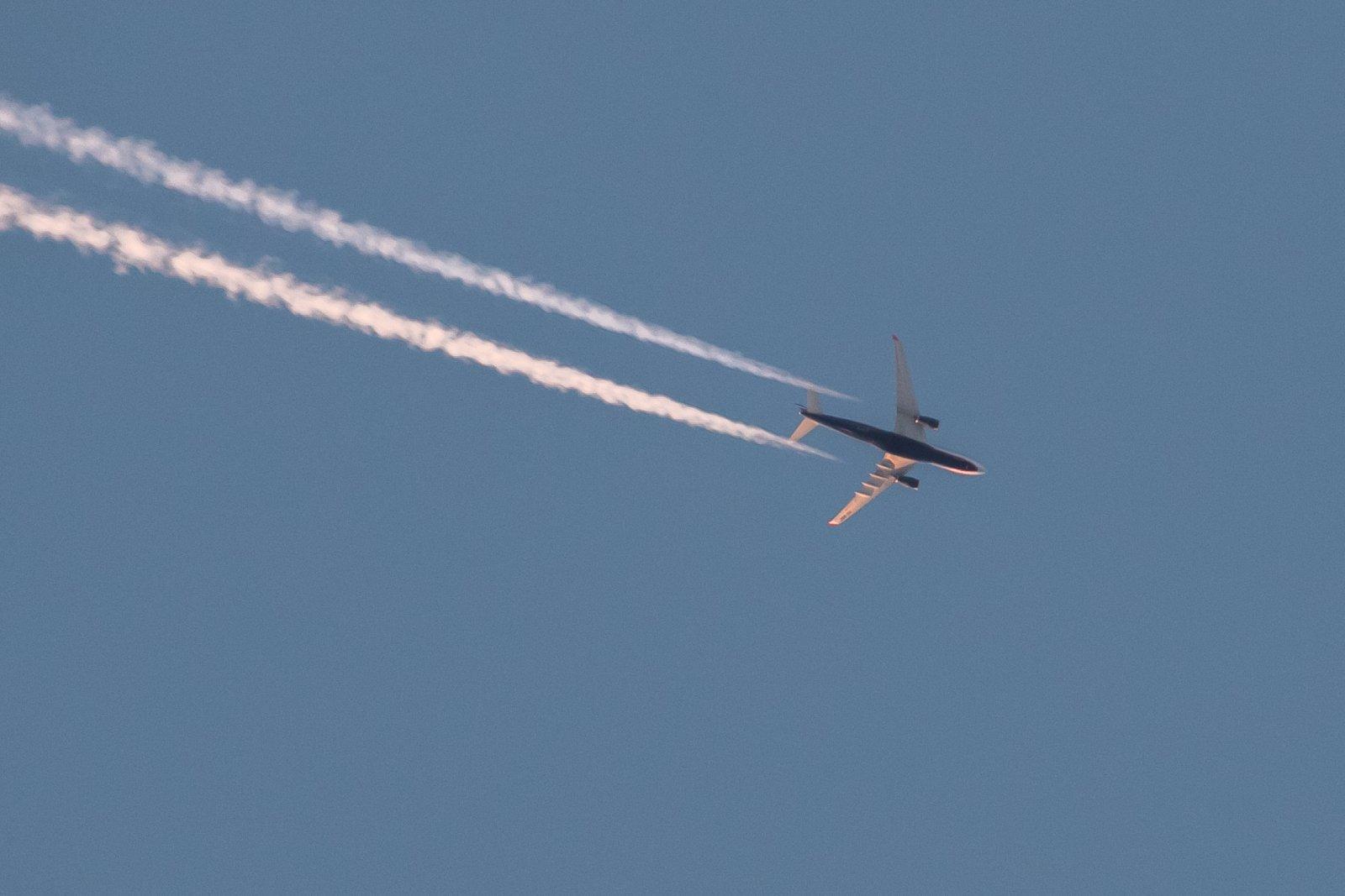 VQ-BBE. Aeroflotin Airbus A330-243, matkalla Moskovasta Losiin.
