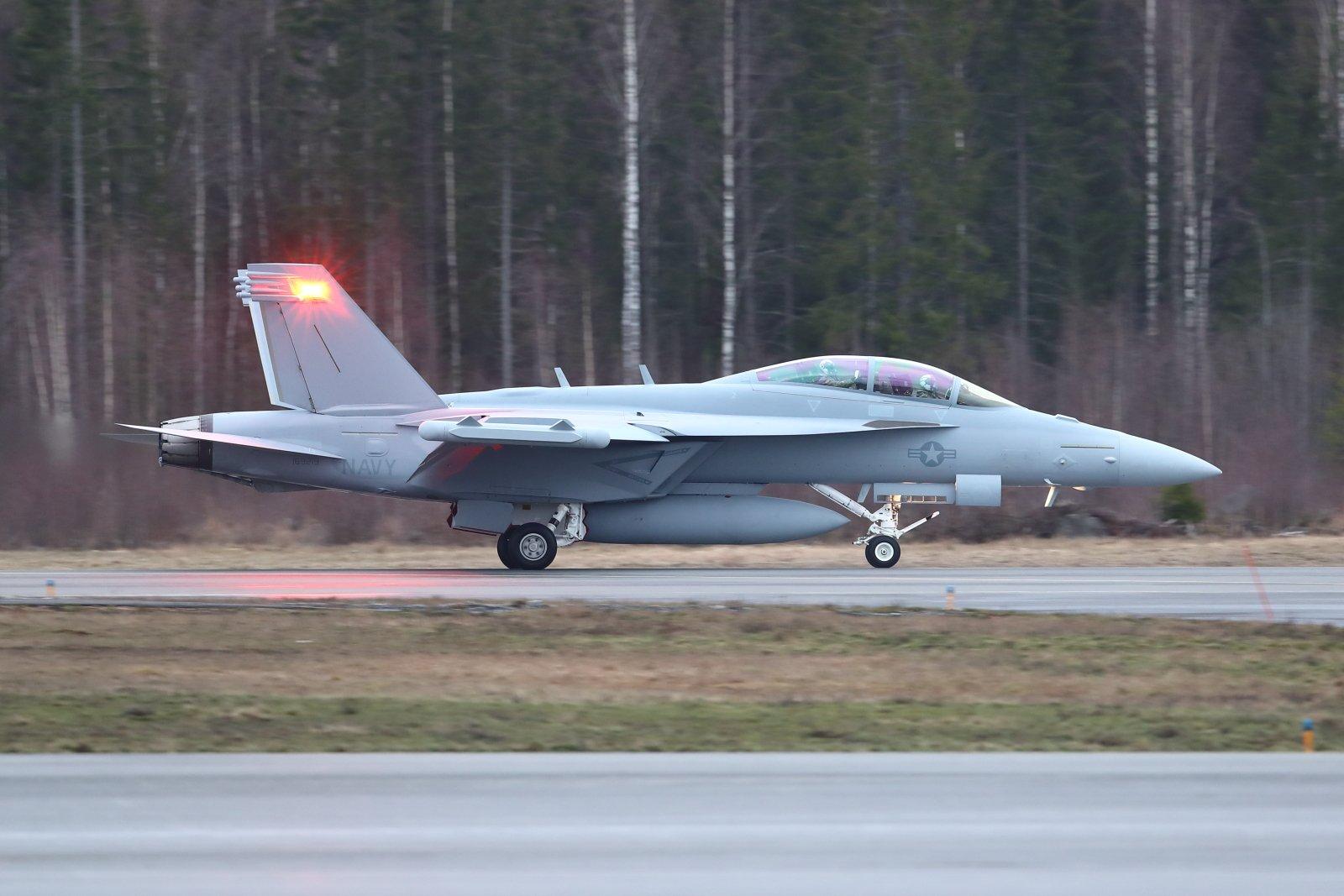 U.S.Navy Boeing EA-18G Growler 169219 EFTP 2020 02 18