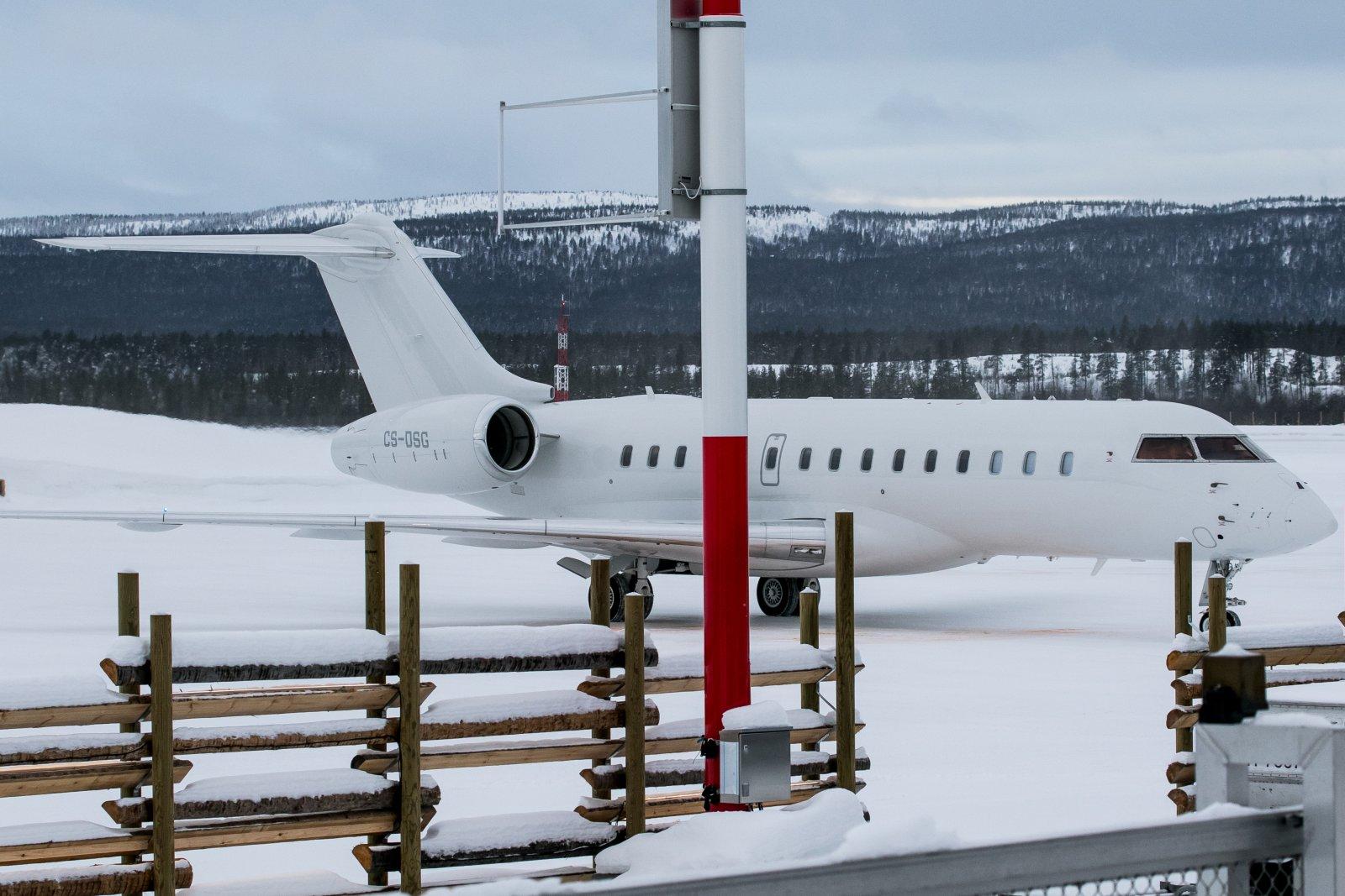 CS-DSG. Bombardier Global 6000. 7.2.2020