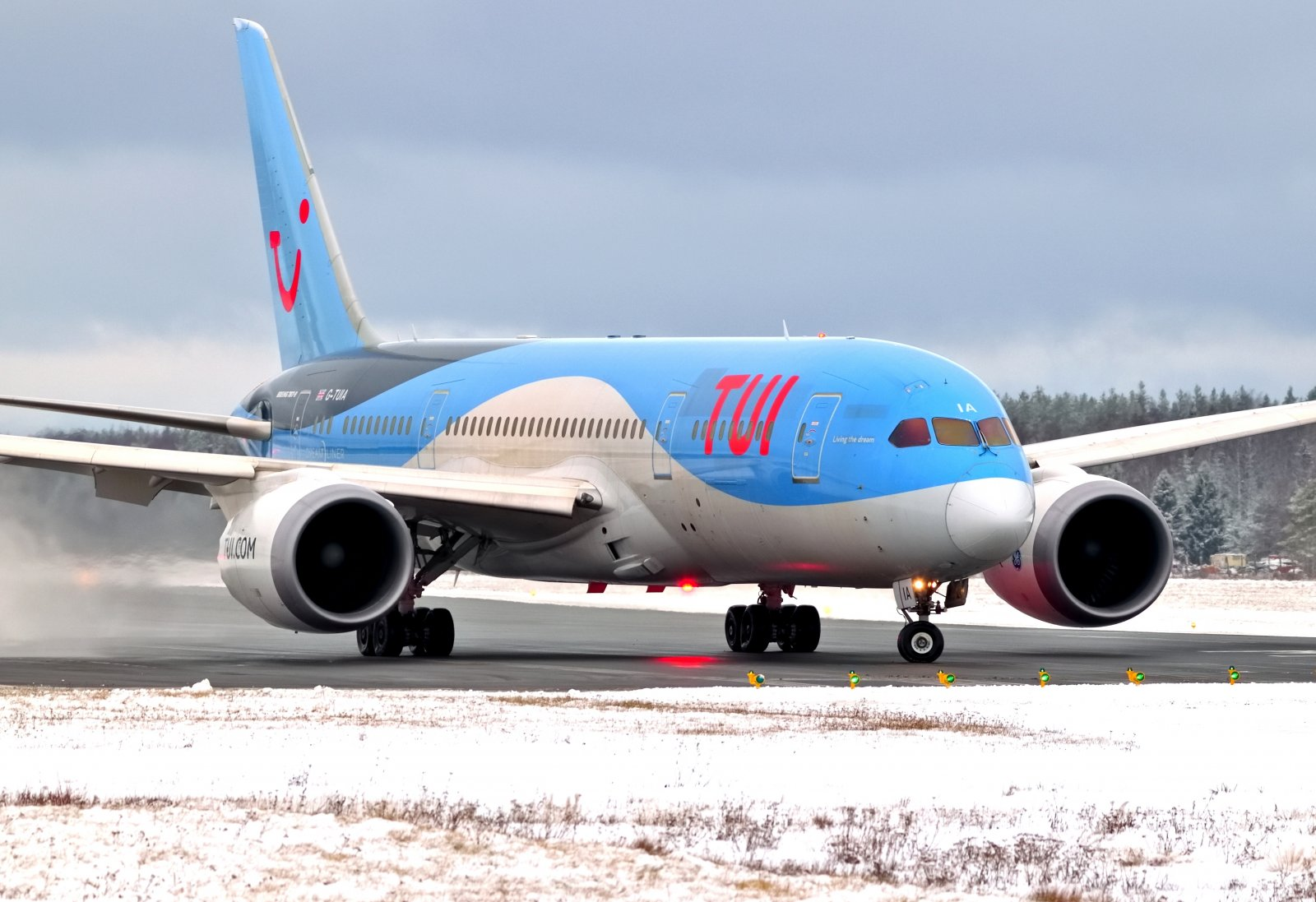 G-TUIA - Boeing 787-8 Dreamliner - TUI - 26.1.2020