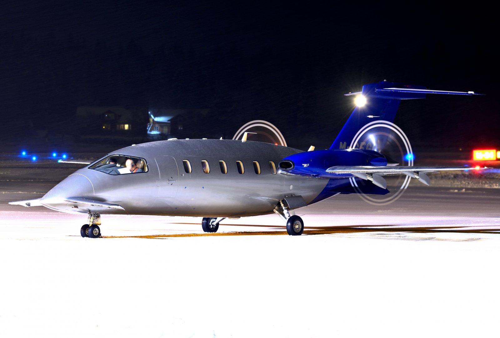 M-GFGC - Piaggio P.180 Avanti - 30.1.2020