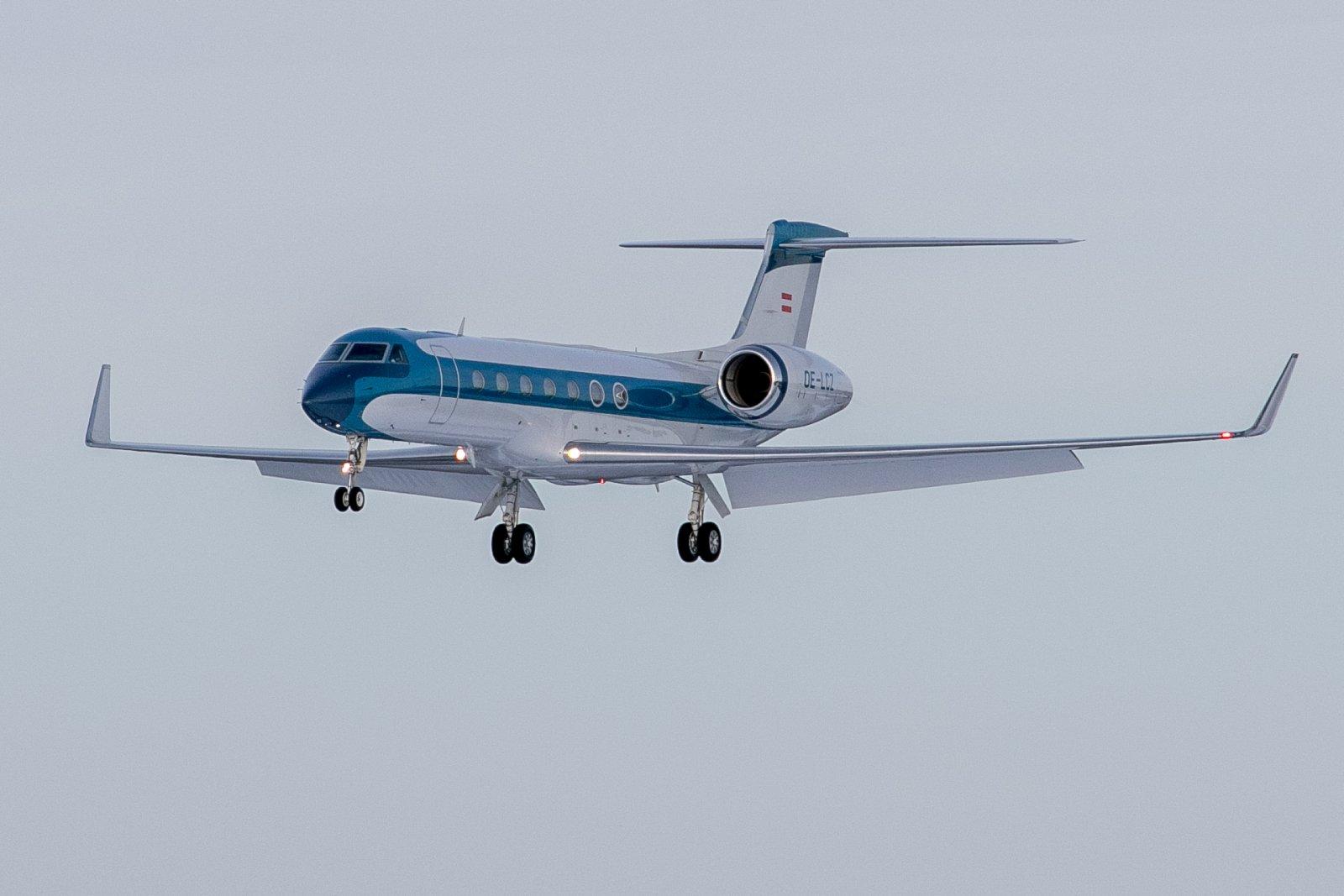 OE-LCZ. Gulfstream G550. 20.02.20.