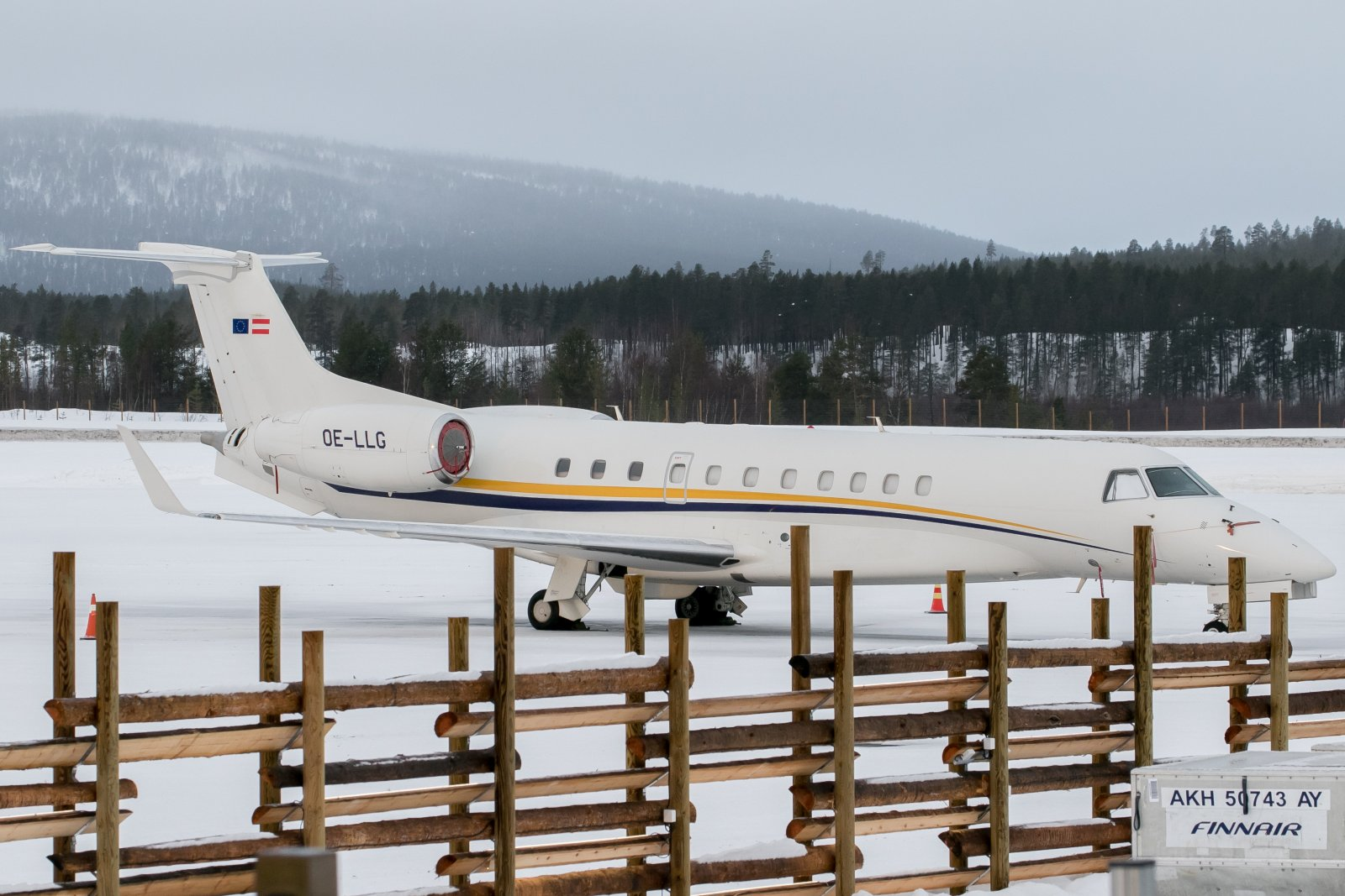 OE-LLG. Embraer 135BJ Legacy. 11.2.2020