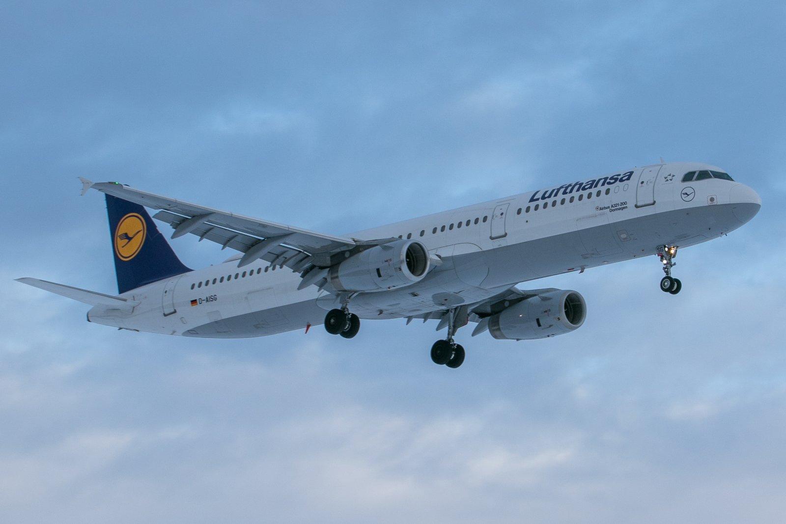 D-AISG. Kone tuli Frankfurtista noutamaan ulkomaalaiset pois Ivalosta.
