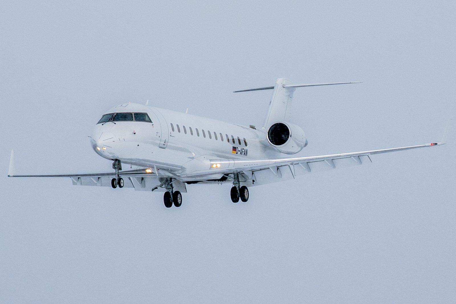 D-AFAN. Bombardier Challenger 850. 6.3.2020