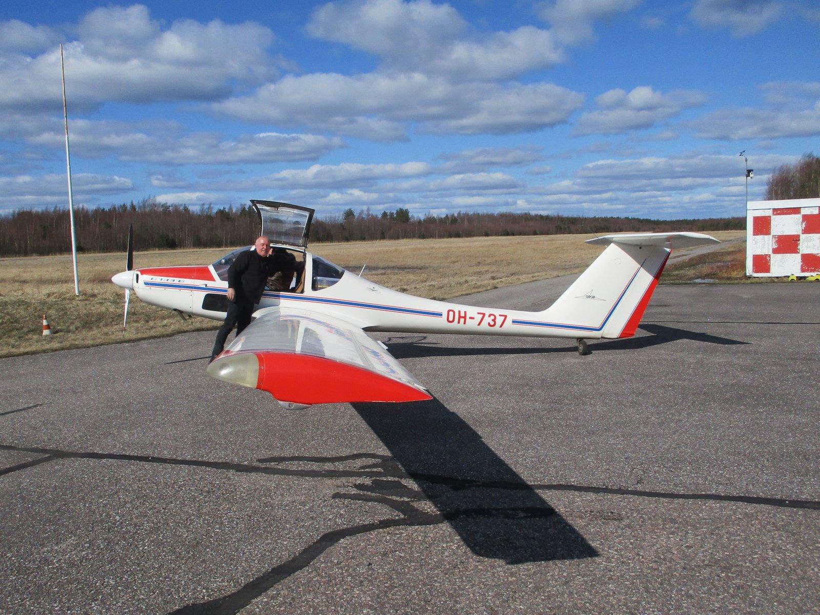 Grob 109B OH-737 EFHN 2020-04-18.