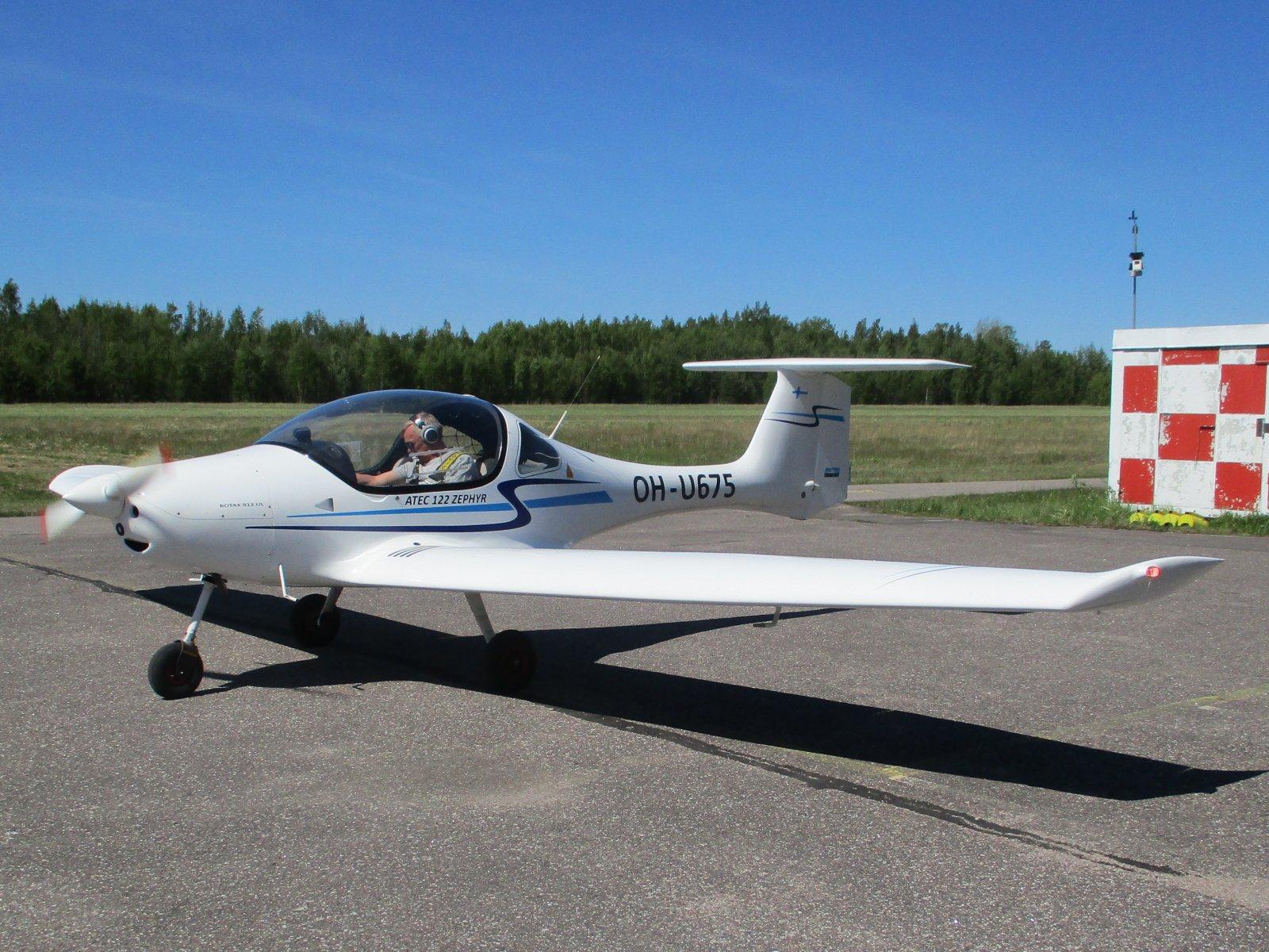 ATEC 122 Zephyr OH-U675 EFHN 2020-05-31