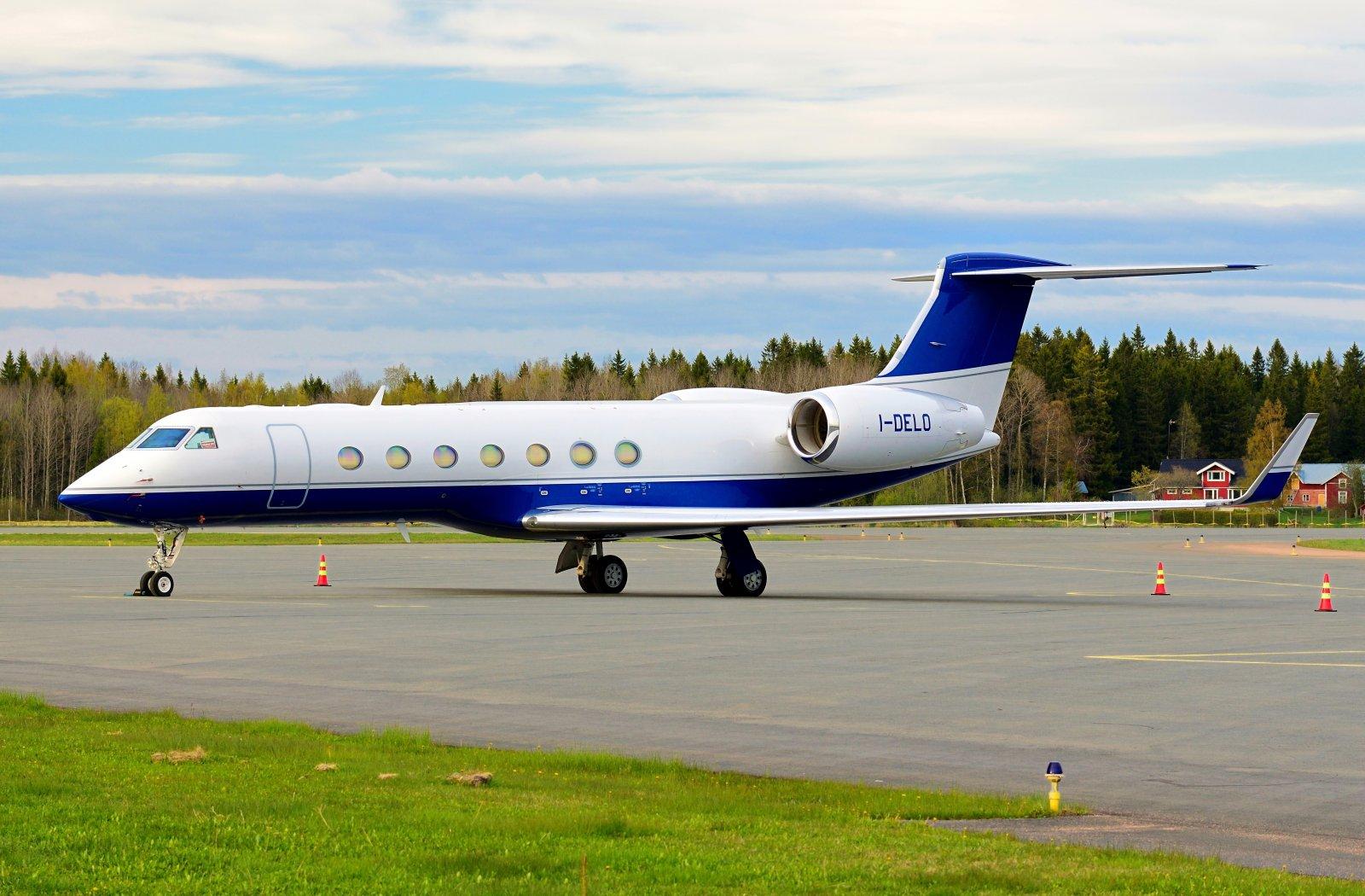 I-DELO - Gulfstream G550 - Sirio Executive - 23.5.2020