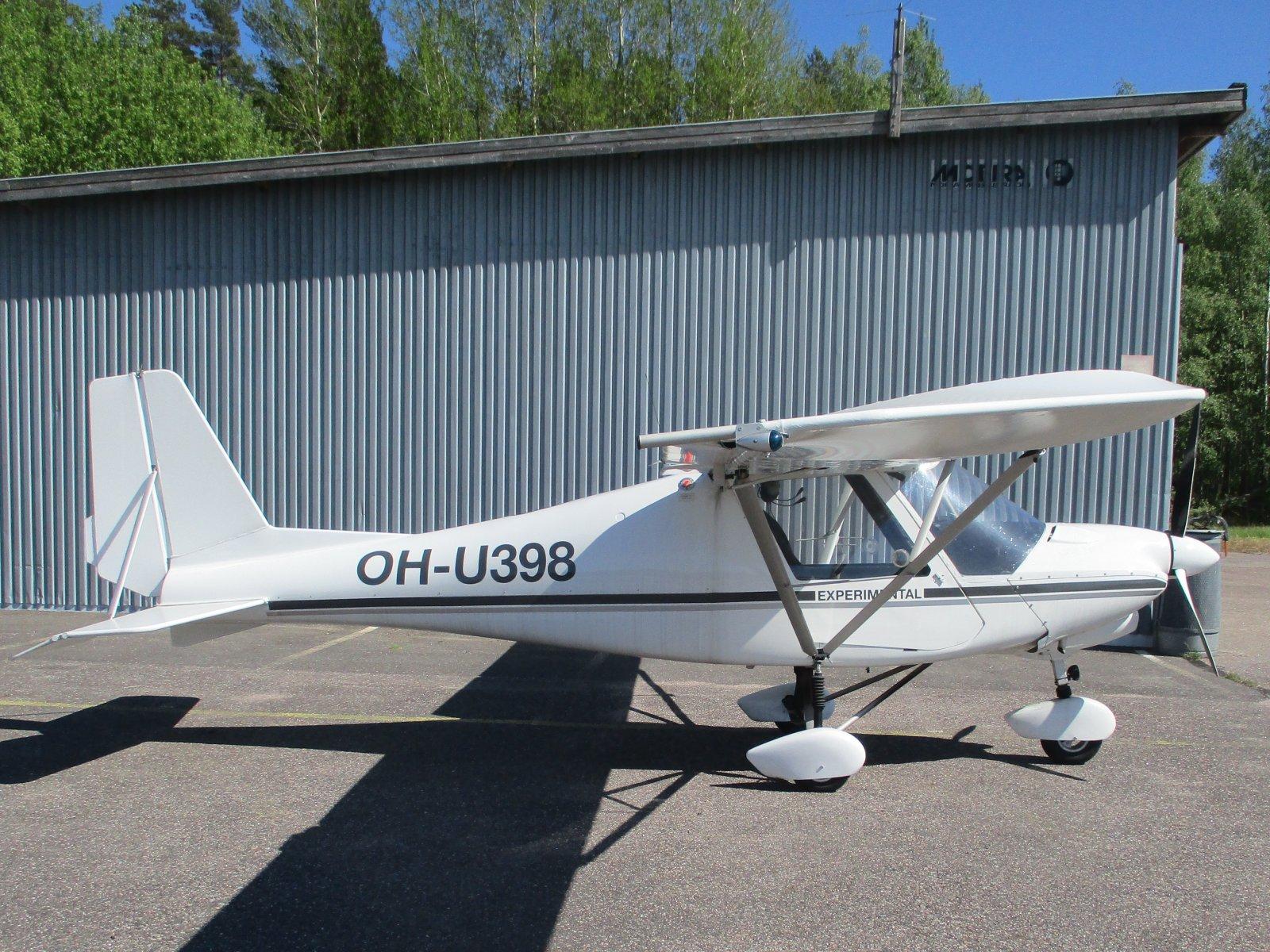 Ikarus C42 Mod OH-U398 EFHN 2020-06-02