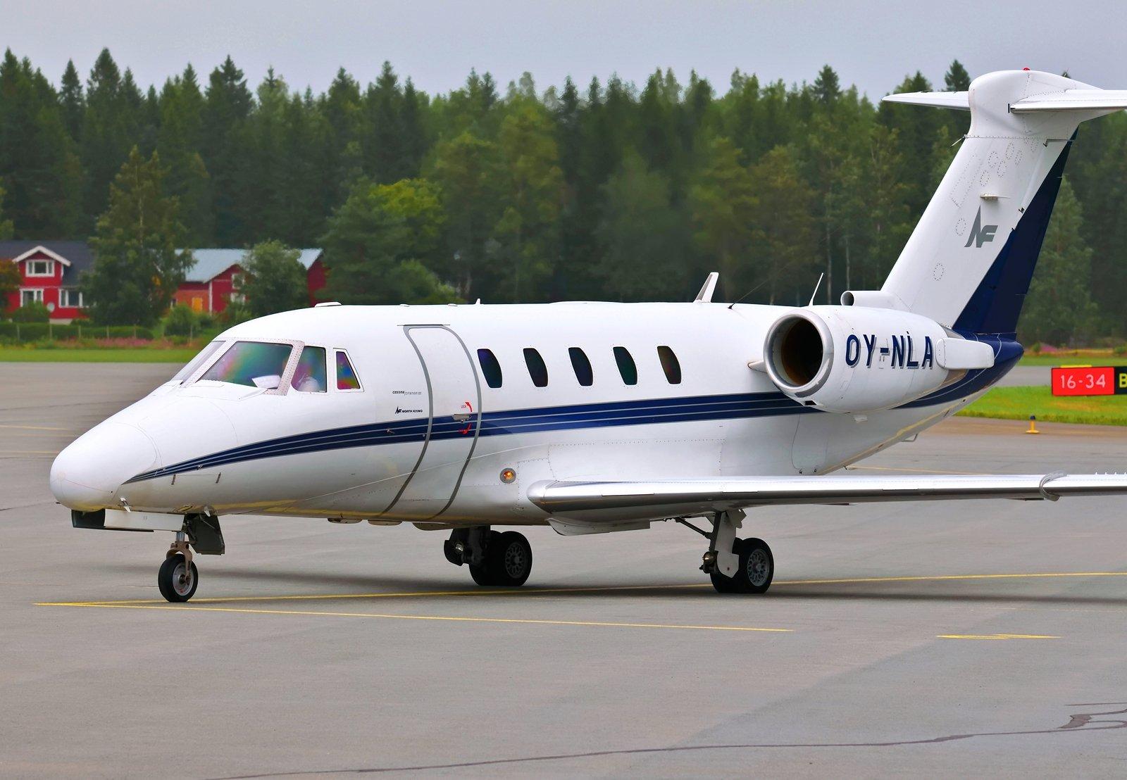 OY-NLA - Cessna 650 Citation III - North Flying - 23.7.2020