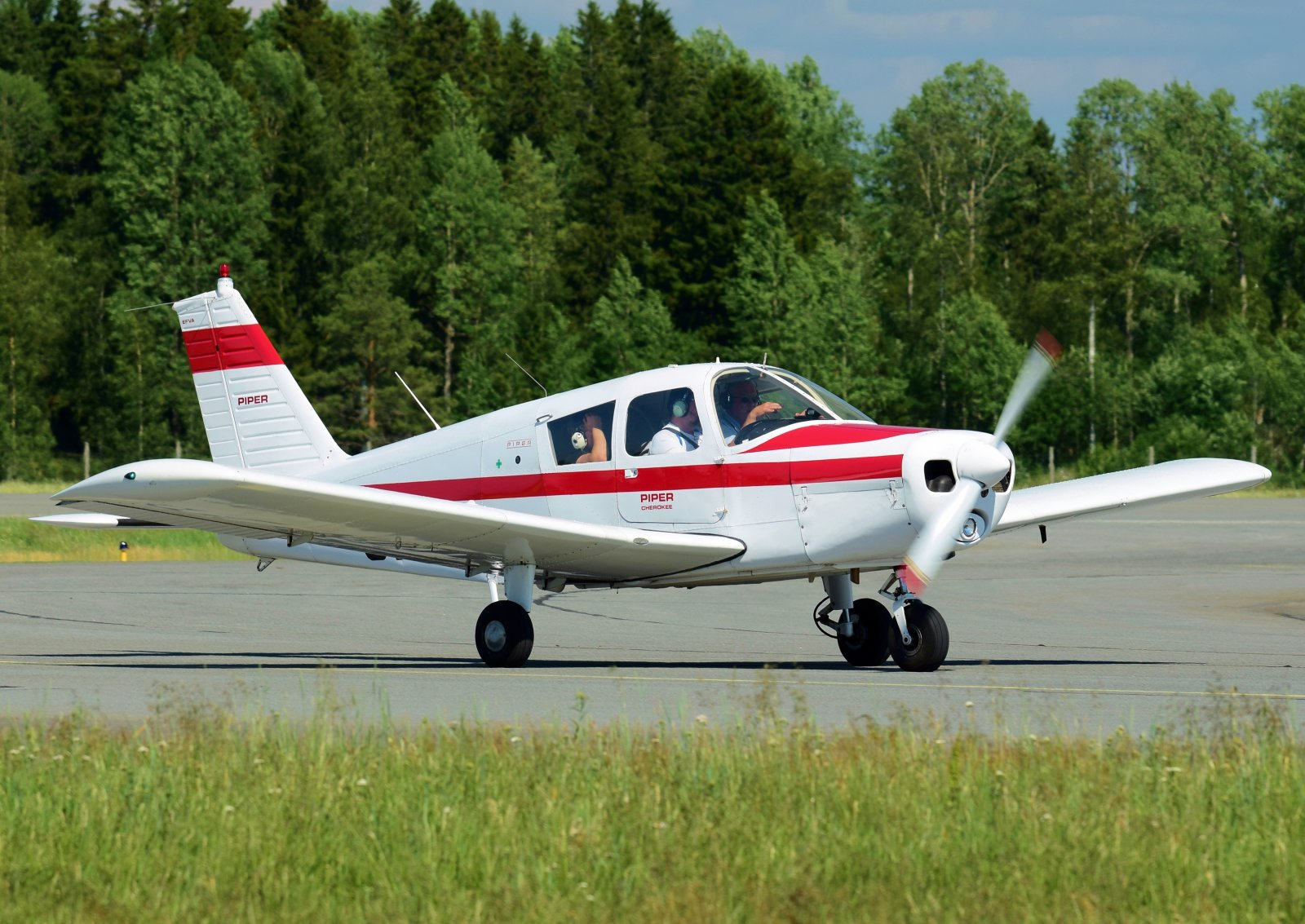 OH-PCL - Piper PA-28-140 Cherokee - 26.6.2020