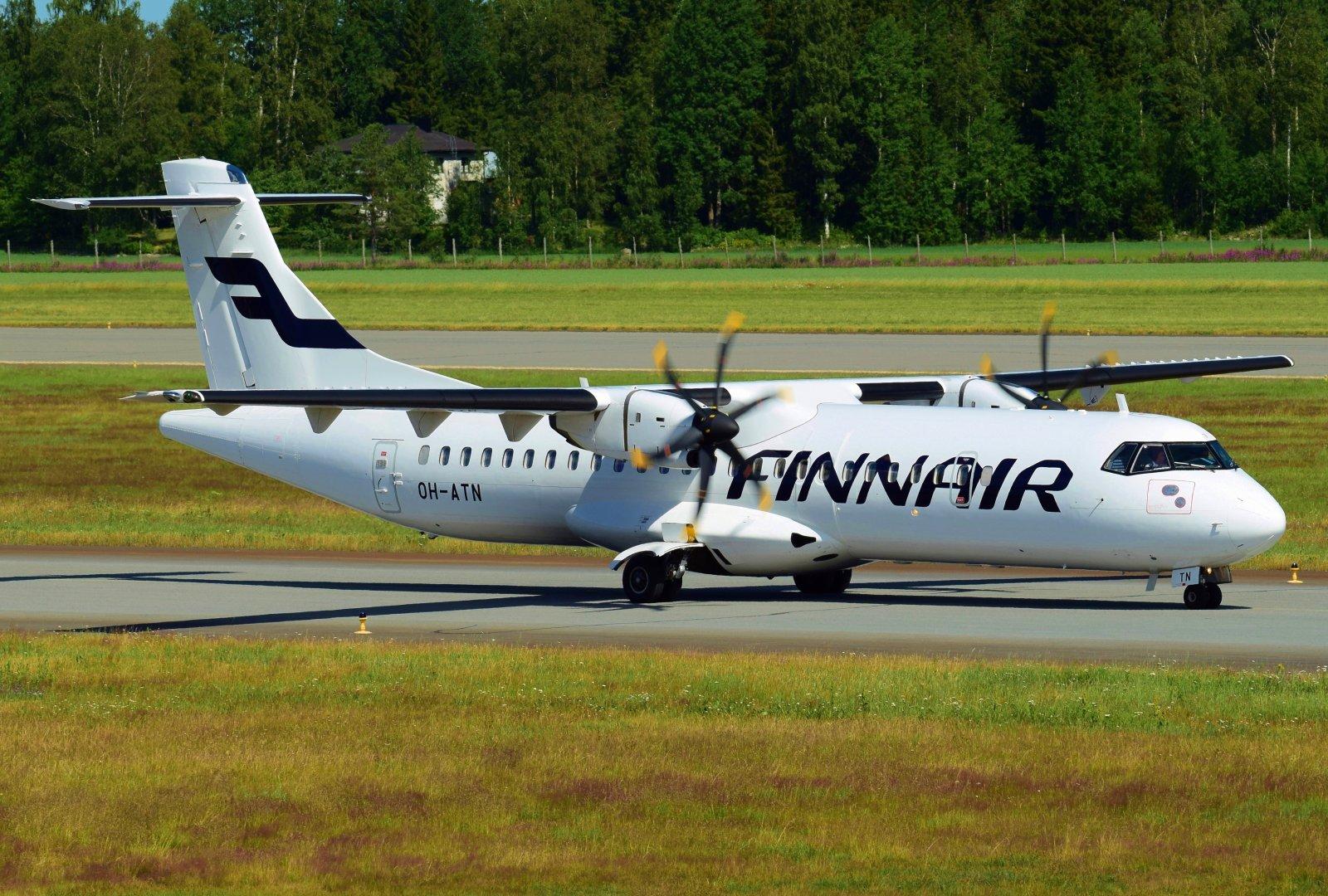 OH-ATN - ATR 72-500 - Finnair - 2.7.2020