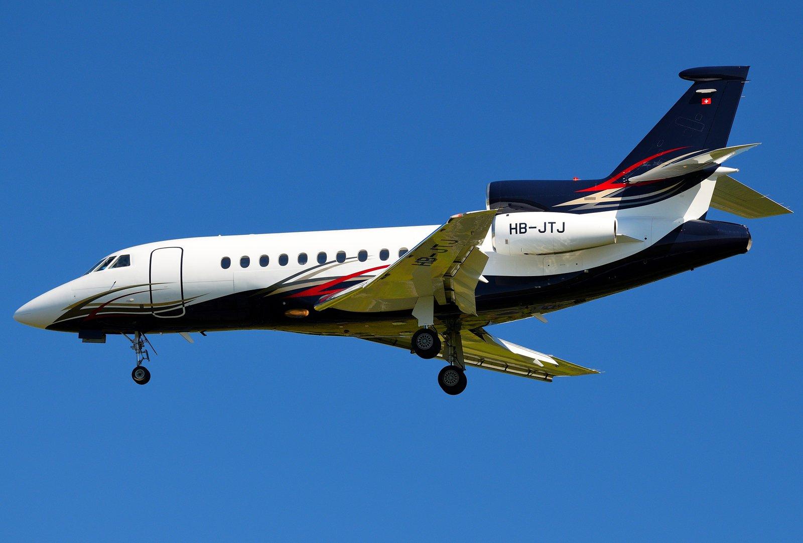 HB-JTJ - Dassault Falcon 900EX - Alpliner - 9.8.2020