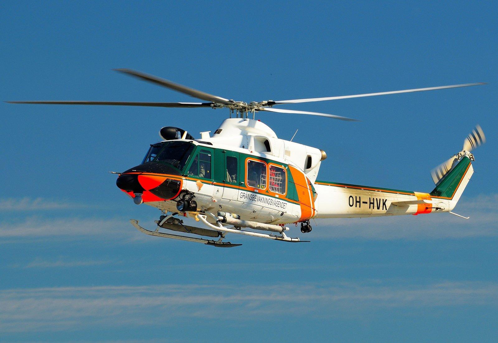 OH-HVK - Agusta-Bell AB-412EP - Rajavartiolaitos - 9.8.2020