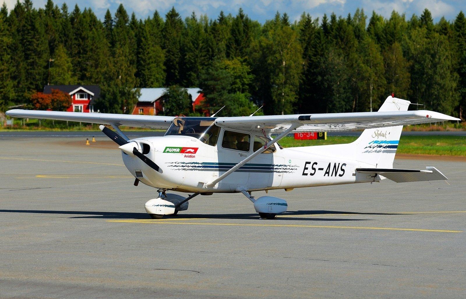 ES-ANS - Cessna 172R Skyhawk - 10.8.2020