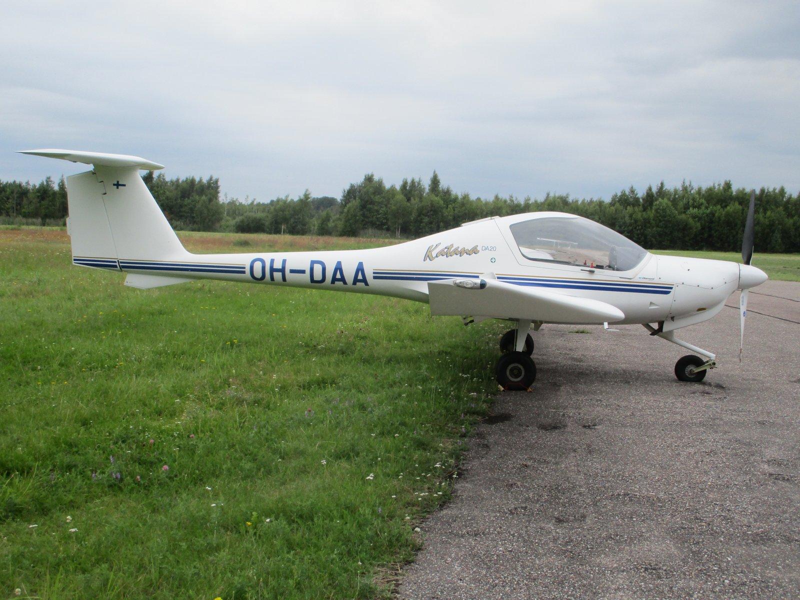 Diamond DA20-A1 Katana OH-DAA EFHN 2020-07-27