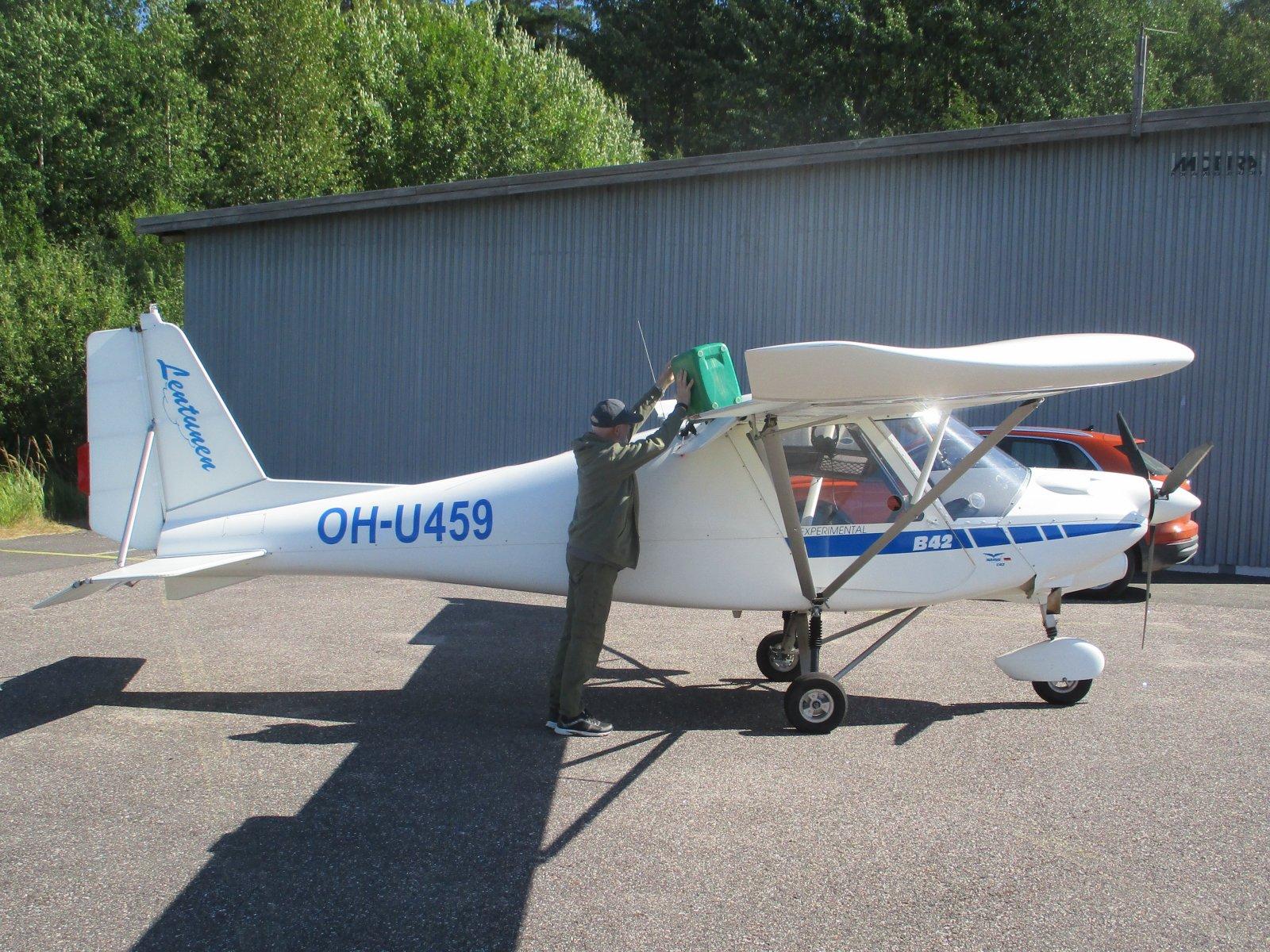 Ikarus C42 B OH-U459 EFHN 2020-08-17
