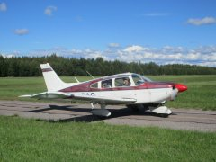 Piper PA-28-180 EFHN 2020-08-29
