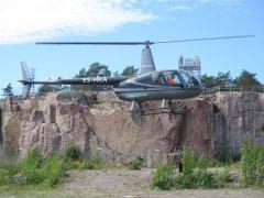 Robinson R44 Raven ES-HRA Hanko 2020-08-09