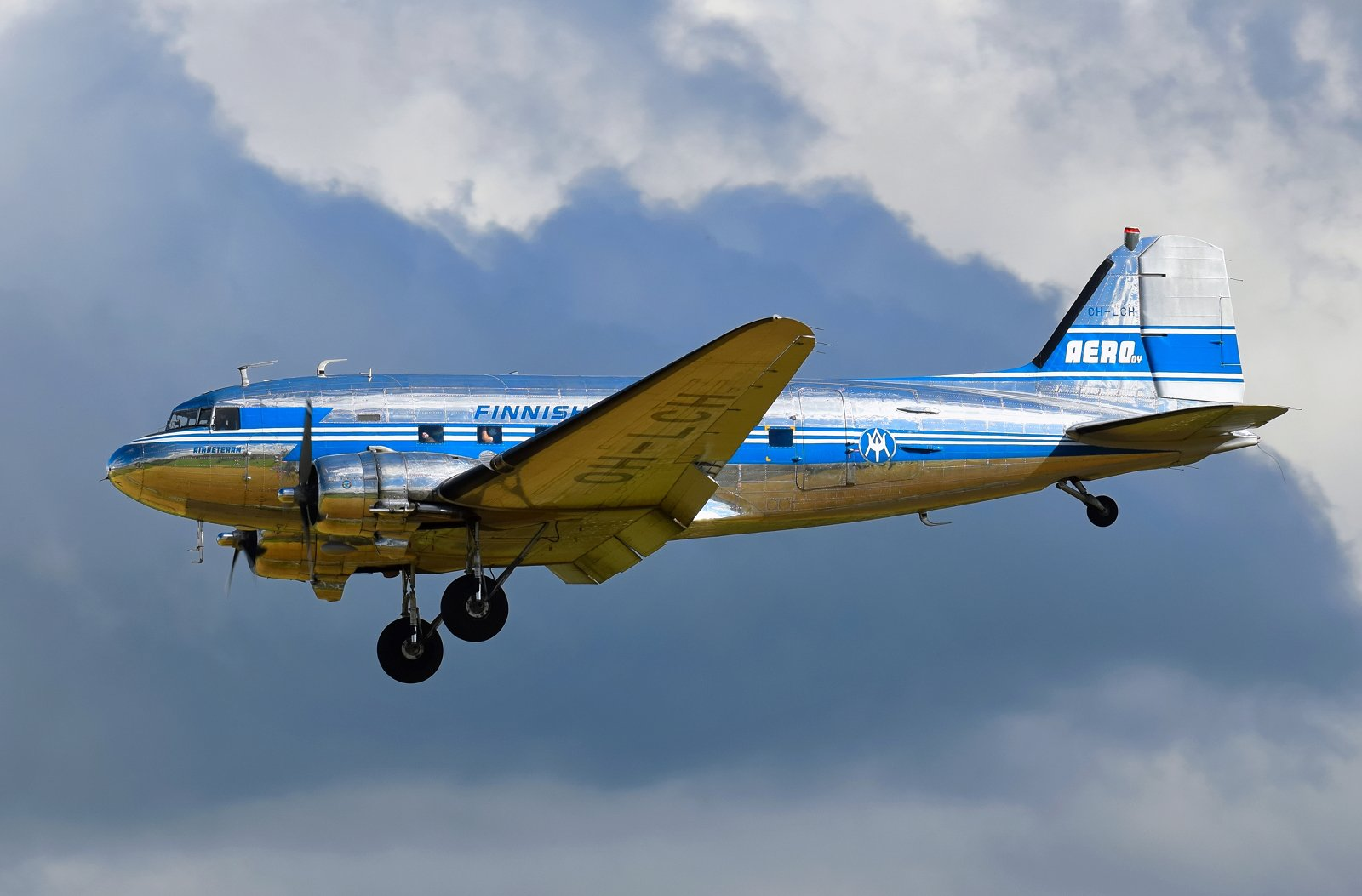 OH-LCH - Douglas DC-3 (C-53C Skytrooper) - Airveteran - 29.8.2020