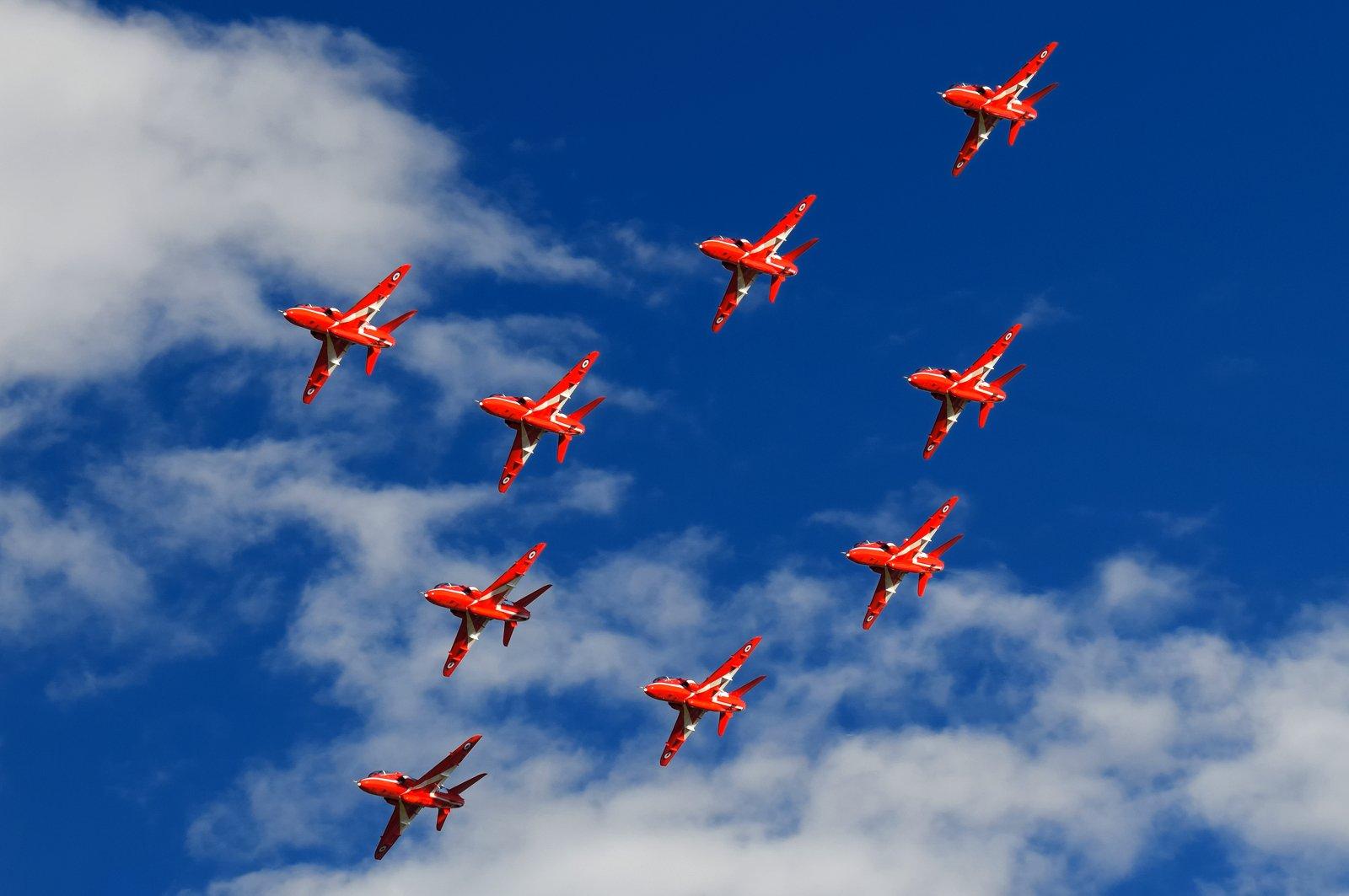 RAF Red Arrows 29.8.2020